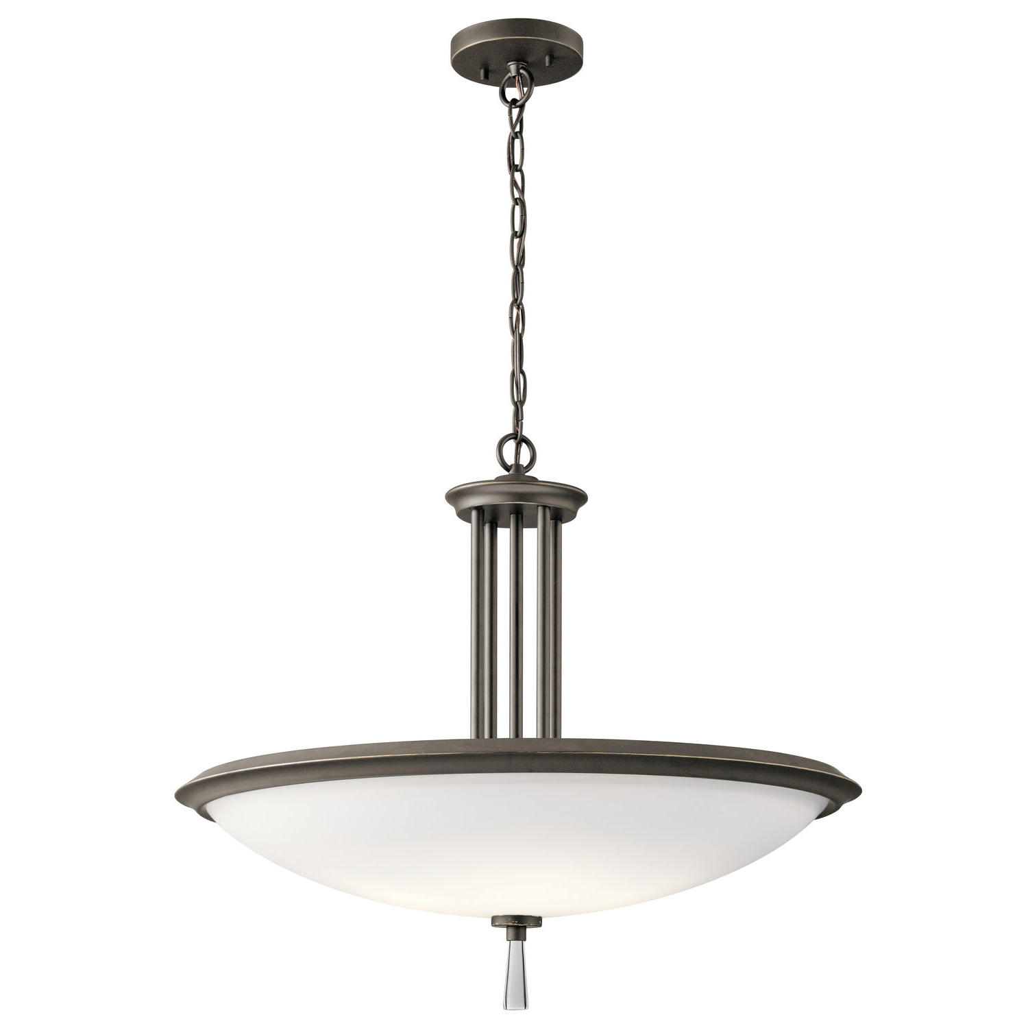Best And Newest Marler 4 Light Bowl Pendant For Newent 3 Light Single Bowl Pendants (View 3 of 25)