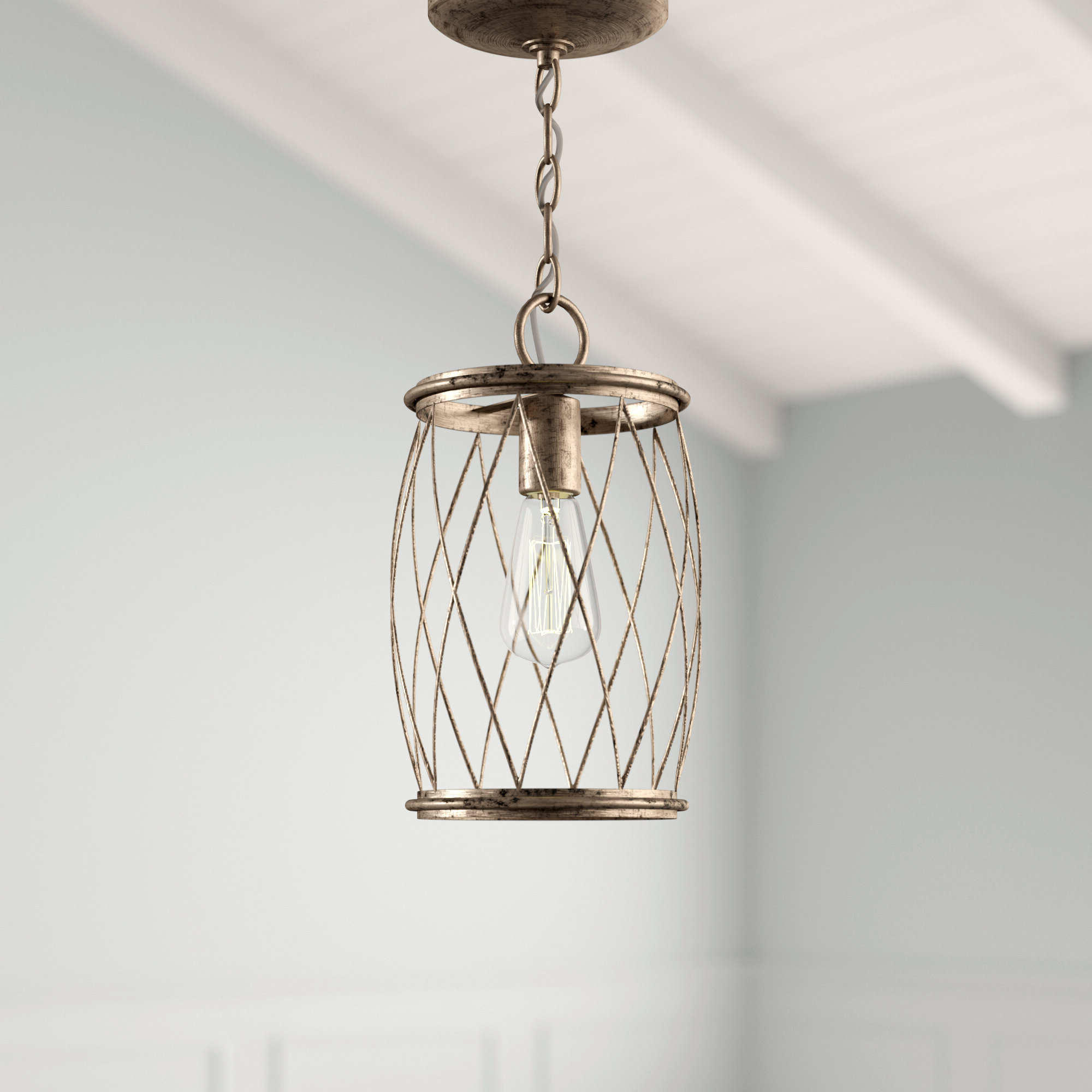 Best and Newest Meryl 1-Light Single Cylinder Pendant inside Poynter 1-Light Single Cylinder Pendants