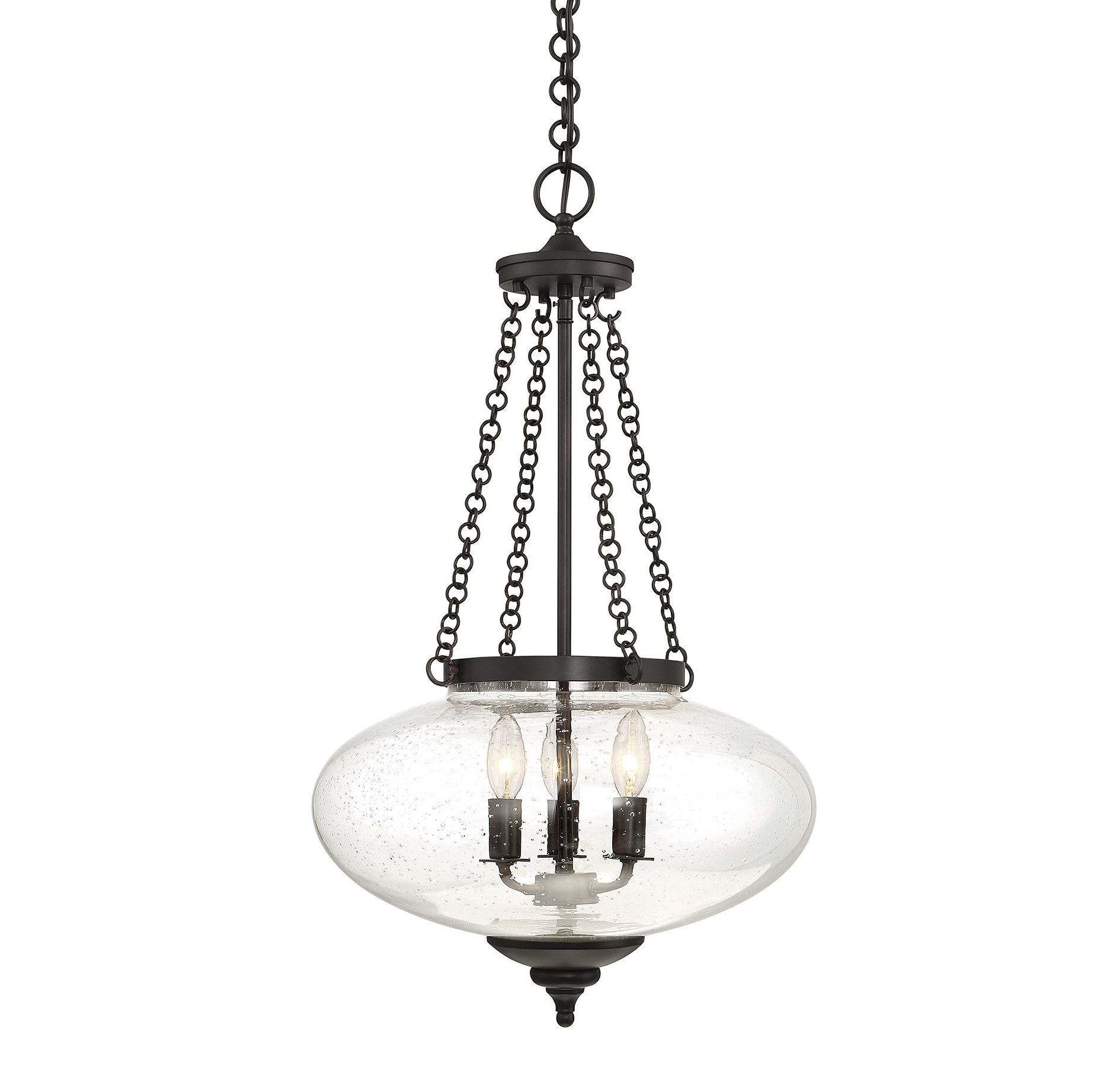 Best And Newest Spokane 1 Light Single Urn Pendants Within Fortunat 3 Light Urn Pendant (View 11 of 25)