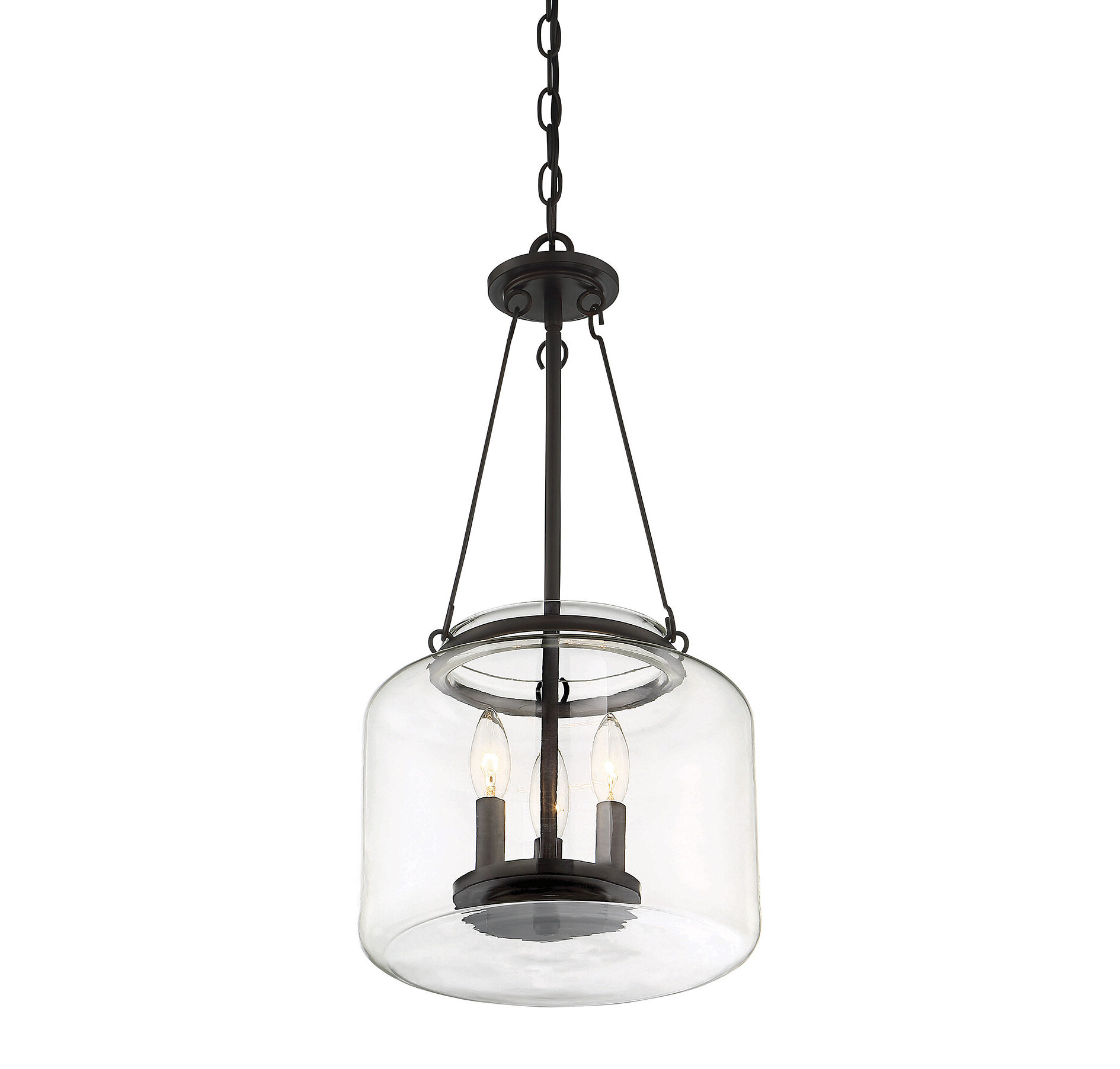 Best and Newest Tessie 3-Light Lantern Cylinder Pendants for Jean-Baptiste 3-Light Lantern Jar Pendant
