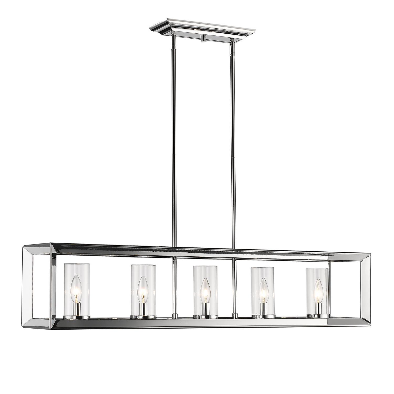 Best and Newest Thorne 5-Light Kitchen Island Pendants for Thorne Modern 5-Light Kitchen Island Pendant