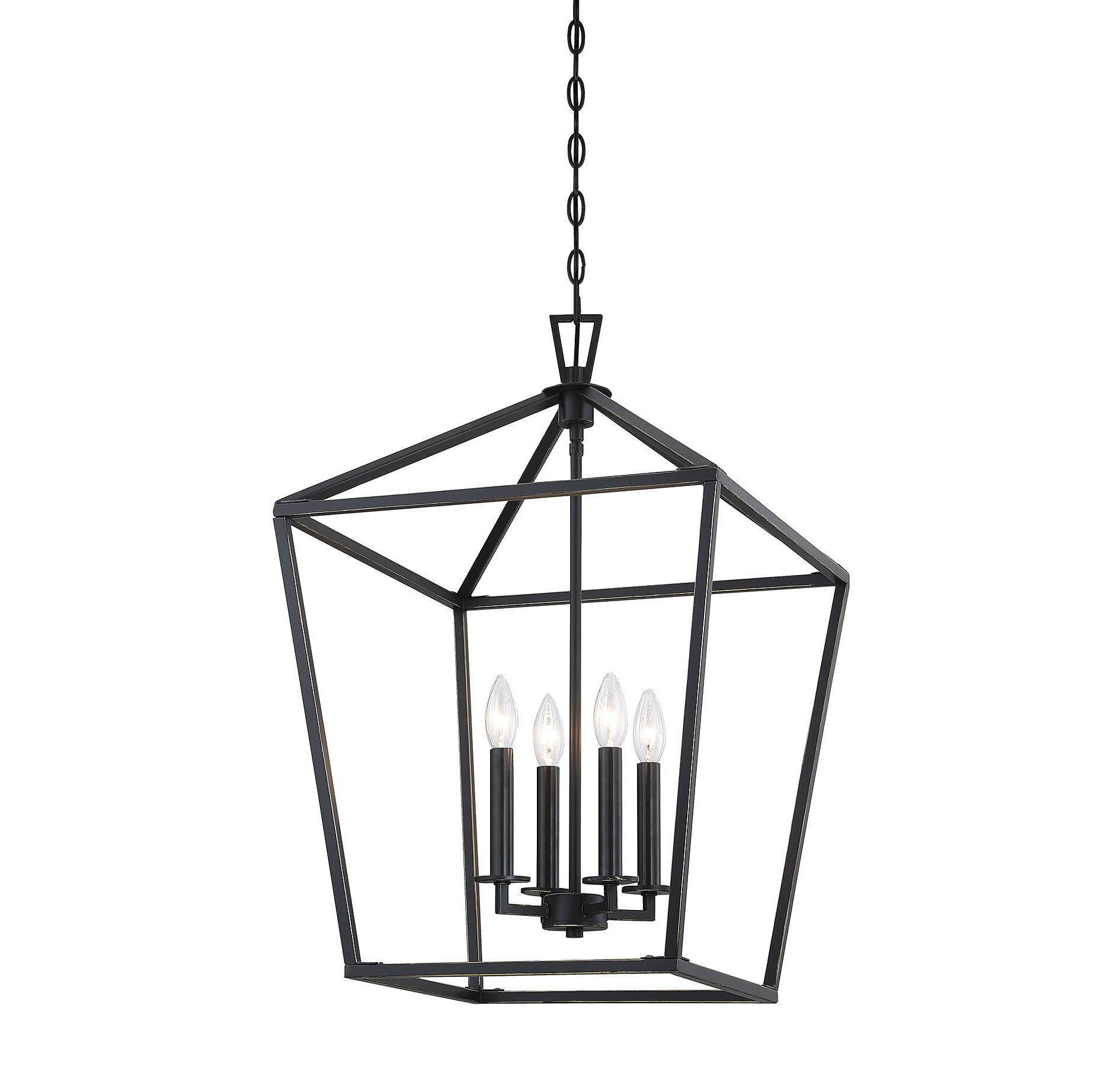 Birch Lane For Famous Leiters 3 Light Lantern Geometric Pendants (View 14 of 25)