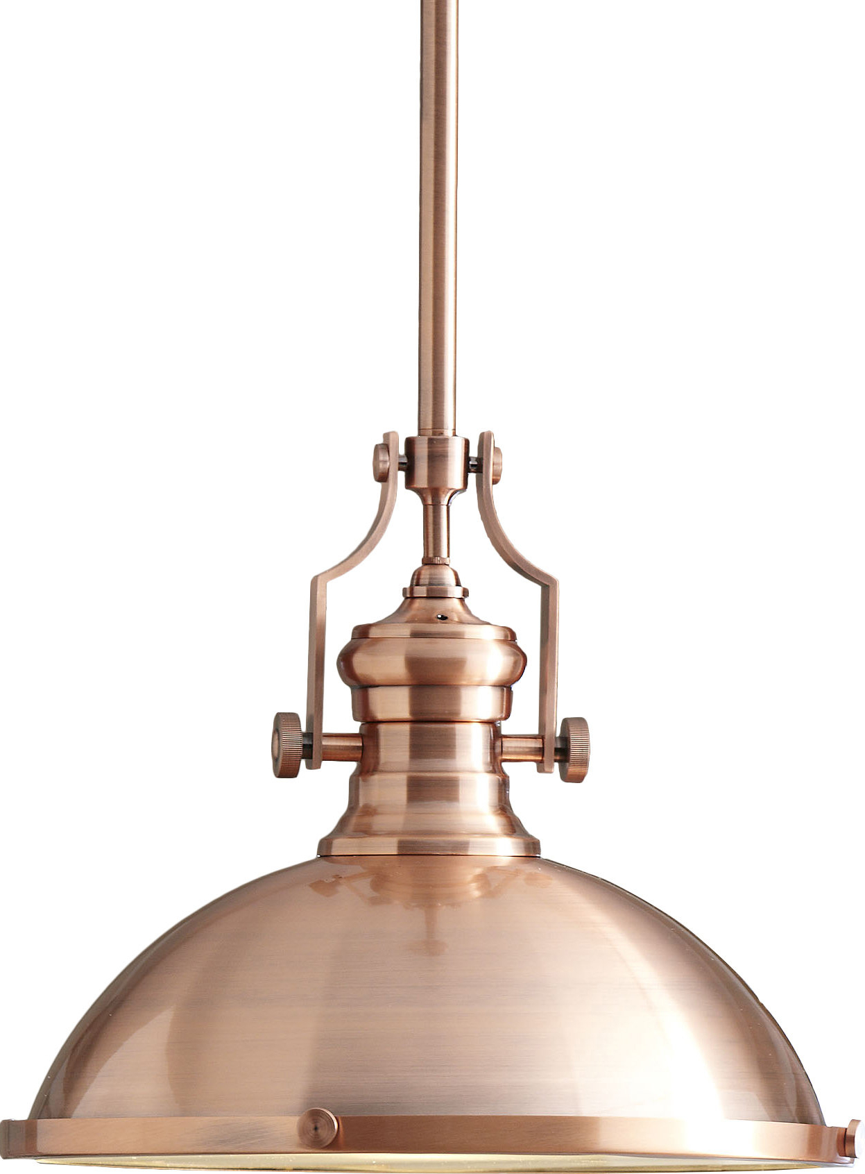 Birch Lane™ Heritage 1-Light Single Dome Pendant inside Most Popular Granville 2-Light Single Dome Pendants