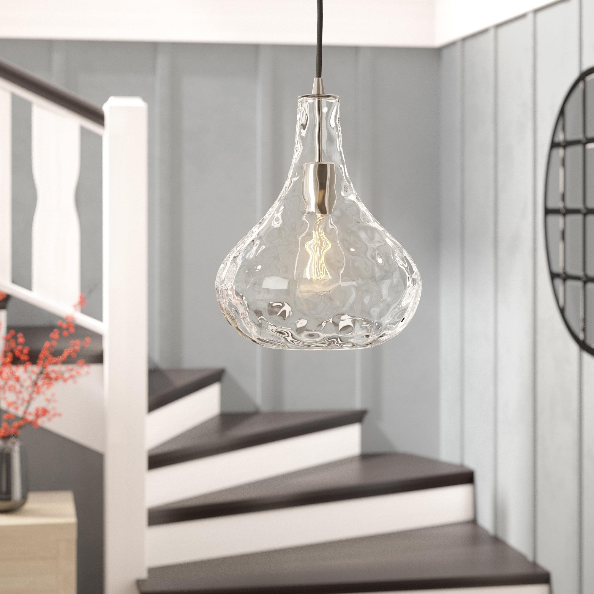 Birch Lane™ Heritage 1 Light Teardrop Pendant Inside Well Known Helina 1 Light Pendants (View 15 of 25)