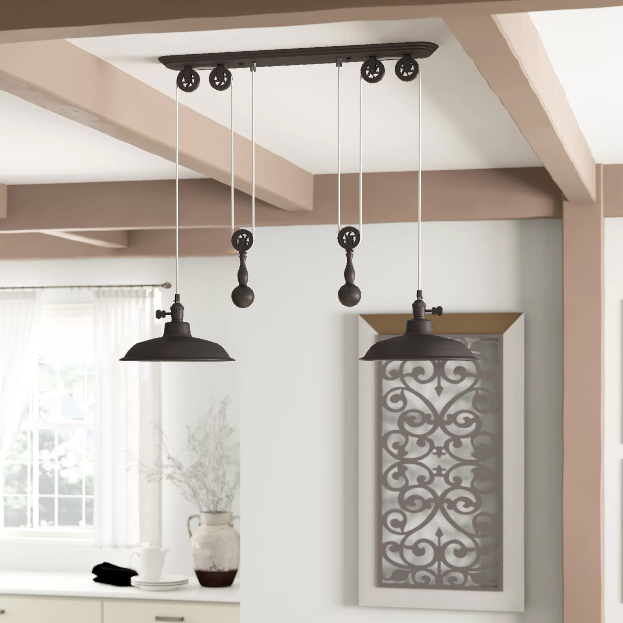 Birch Lane Intended For Ariel 2 Light Kitchen Island Dome Pendants (View 5 of 25)