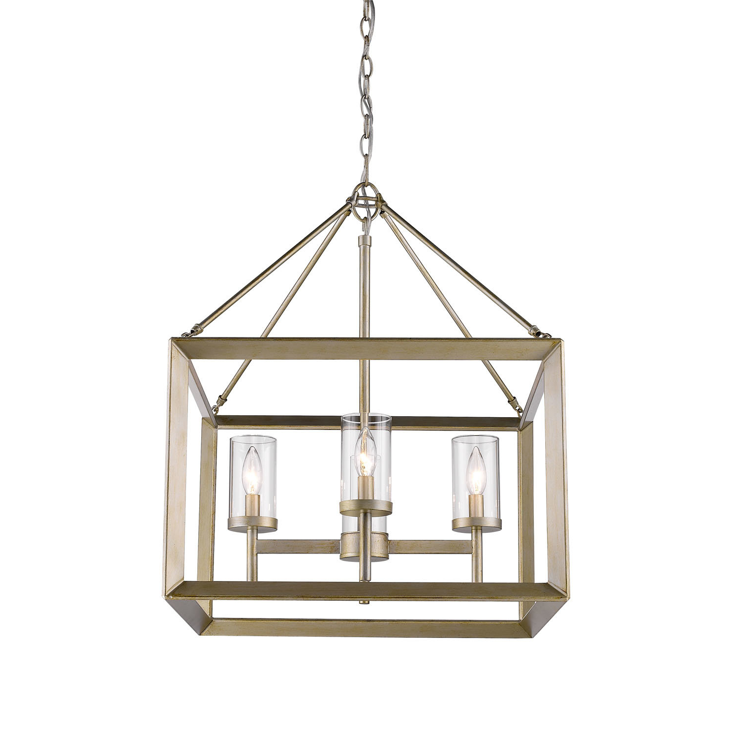 Birch Lane pertaining to Taya 4-Light Lantern Square Pendants