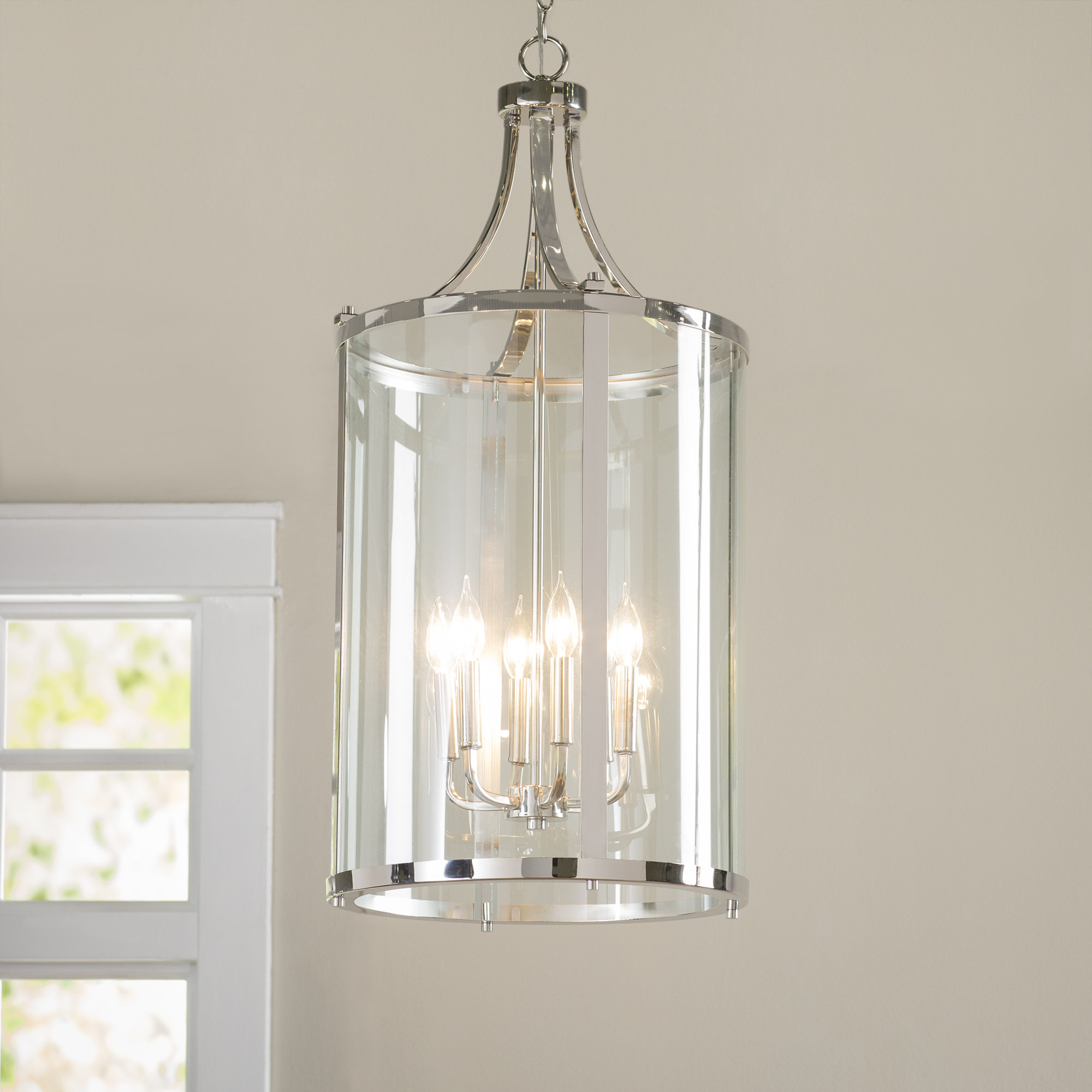 Birch Lane within Well-liked Barrons 1-Light Single Cylinder Pendants