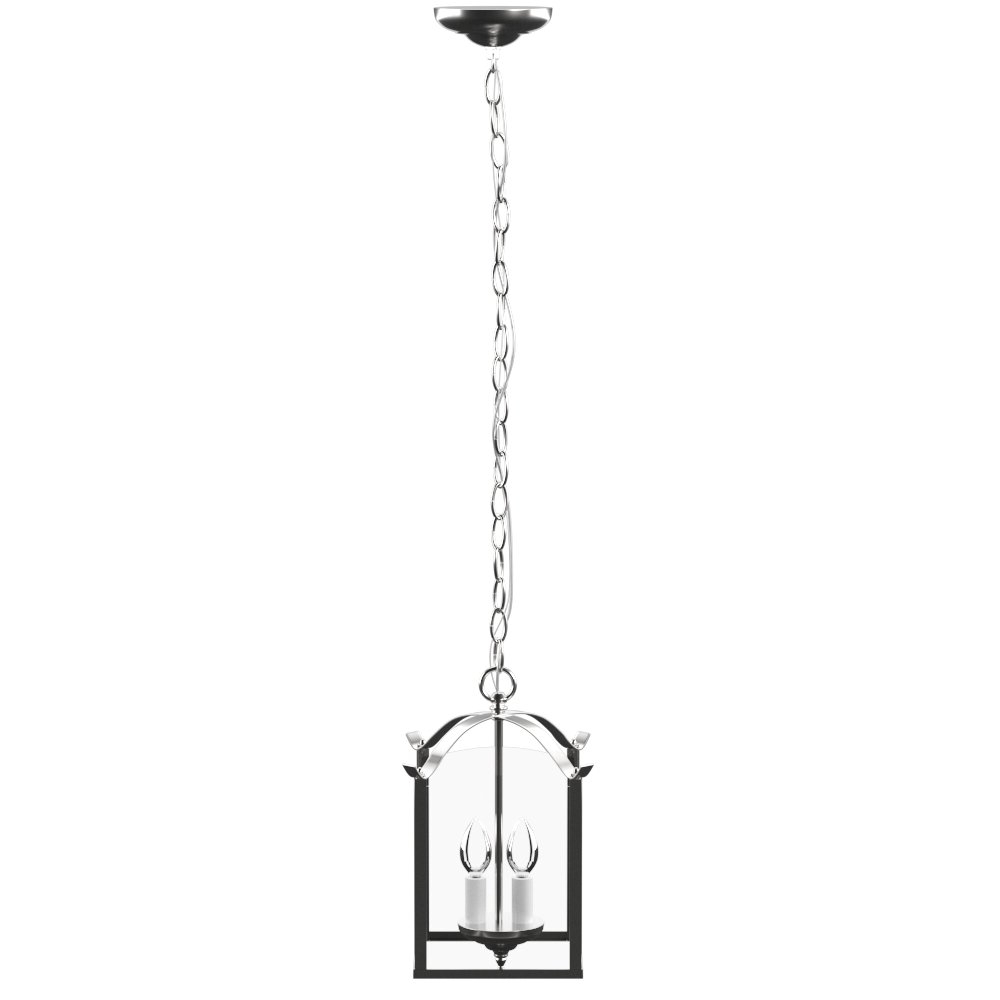 Birkett 2 Light Pendant With Regard To Newest Chauvin 3 Light Lantern Geometric Pendants (View 13 of 25)