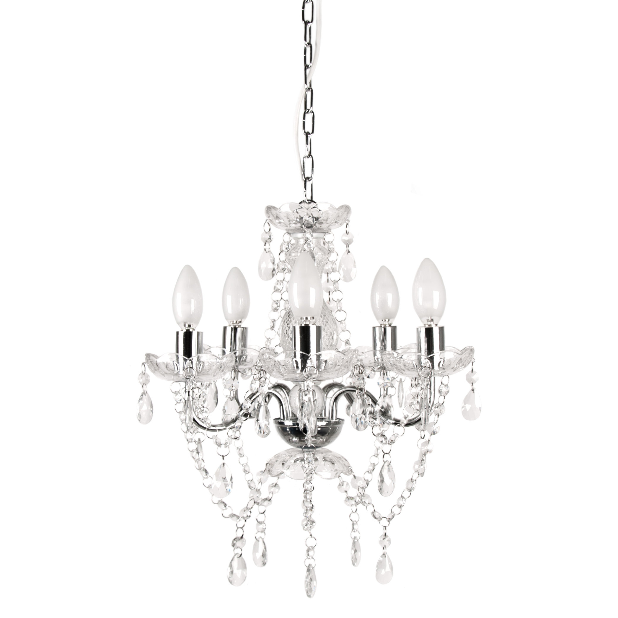 Blanchette 5-Light Candle Style Chandeliers intended for Favorite 5-Light Candle Style Chandelier