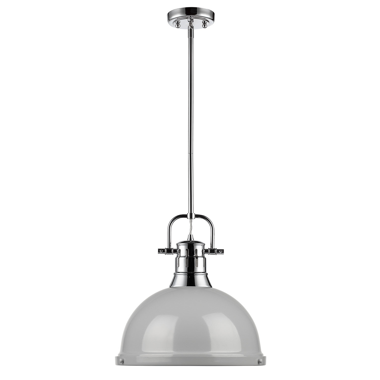 Bodalla 1-Light Single Dome Pendant for Well known Freeda 1-Light Single Dome Pendants
