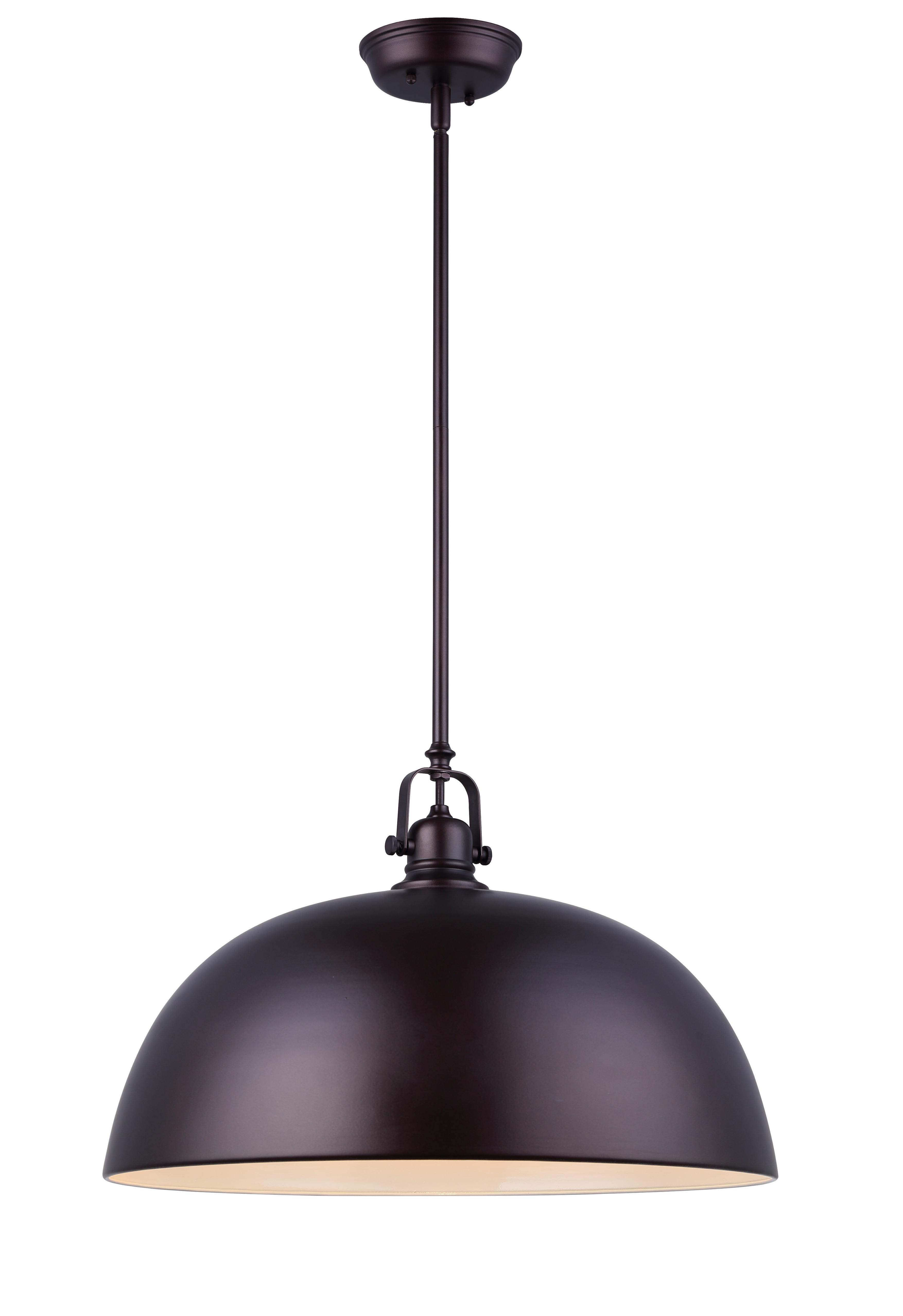 Bodalla 1-Light Single Dome Pendants intended for Trendy Southlake 1-Light Single Dome Pendant