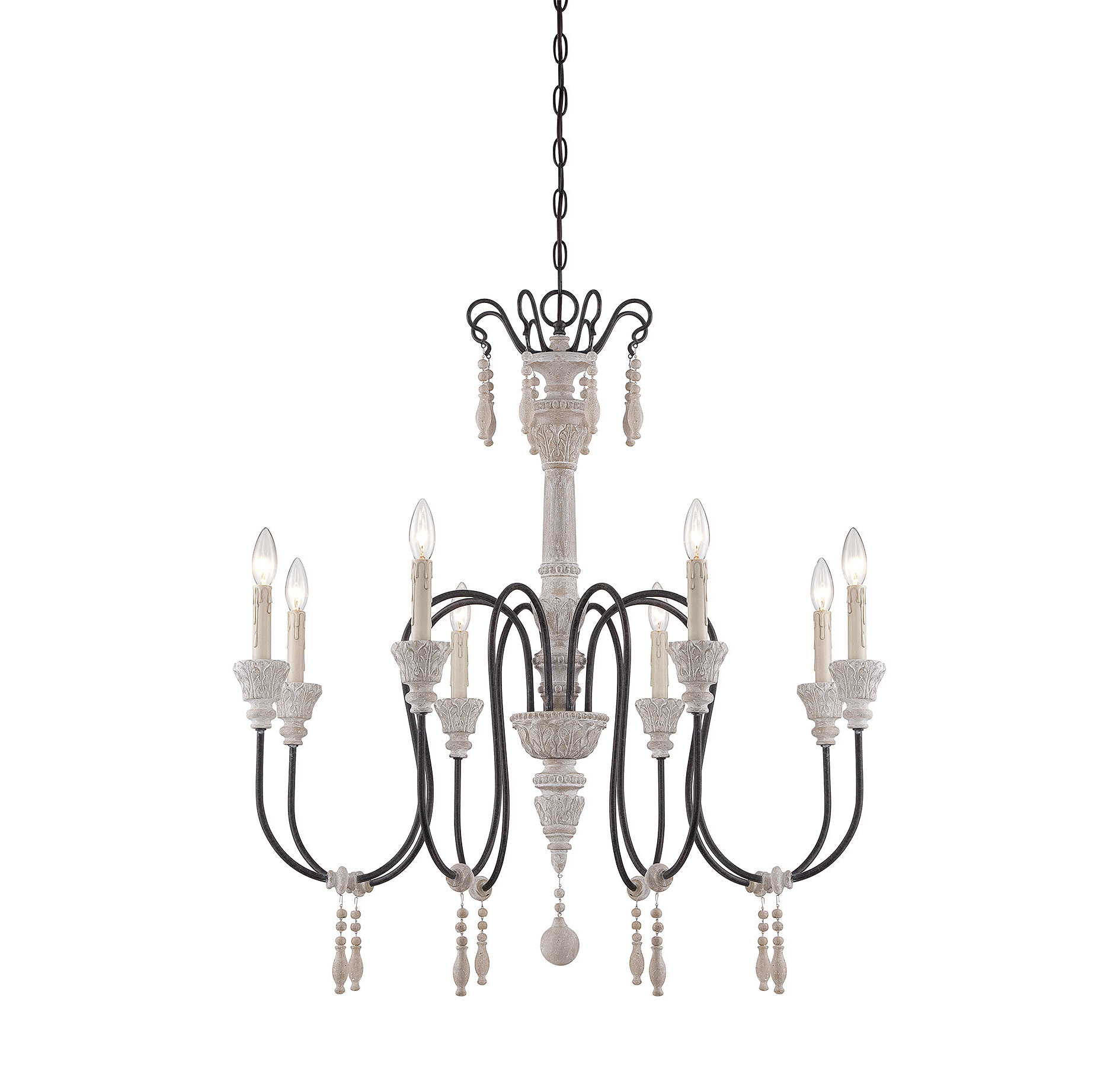 Bouchette Traditional 6-Light Candle Style Chandeliers intended for Preferred Ailsa 8-Light Candle Style Chandelier