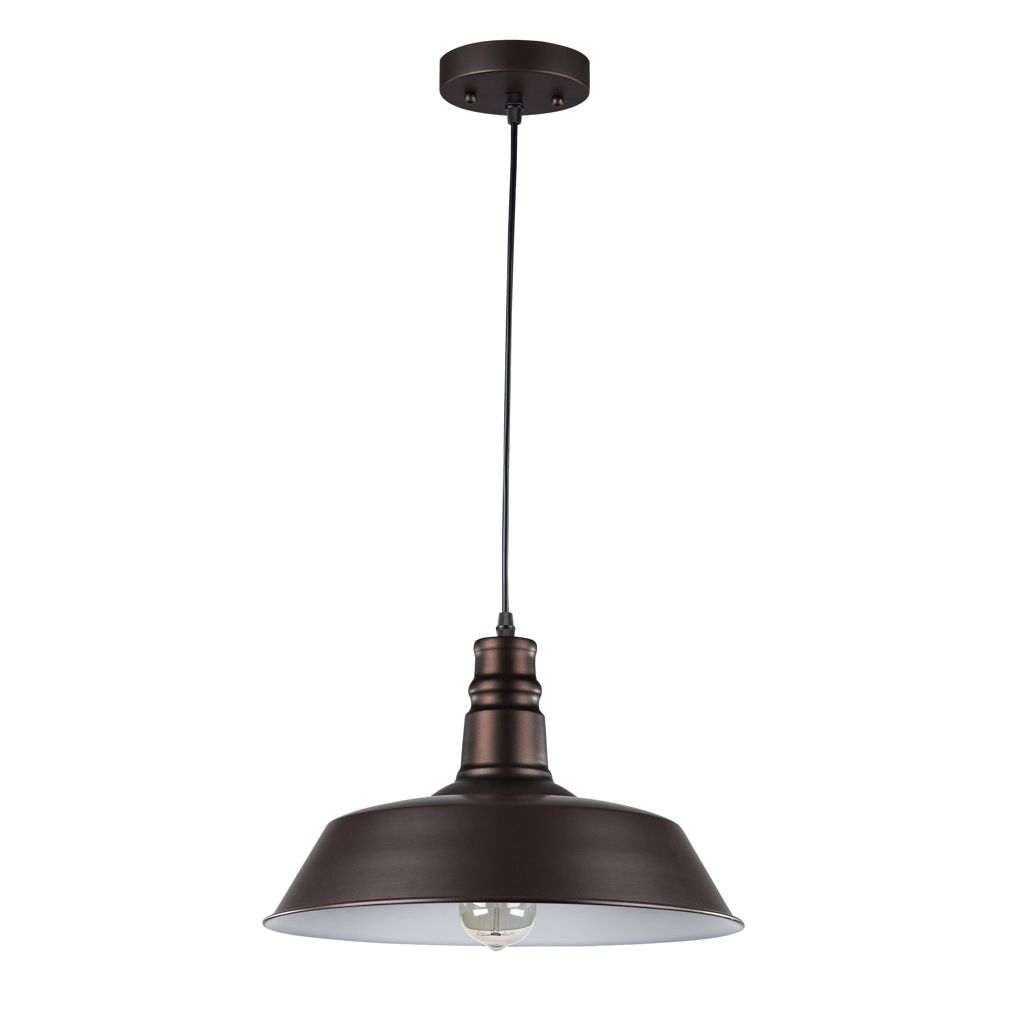 Bouvet 1 Light Dome Pendant Intended For Well Known Conover 1 Light Dome Pendants (View 2 of 25)
