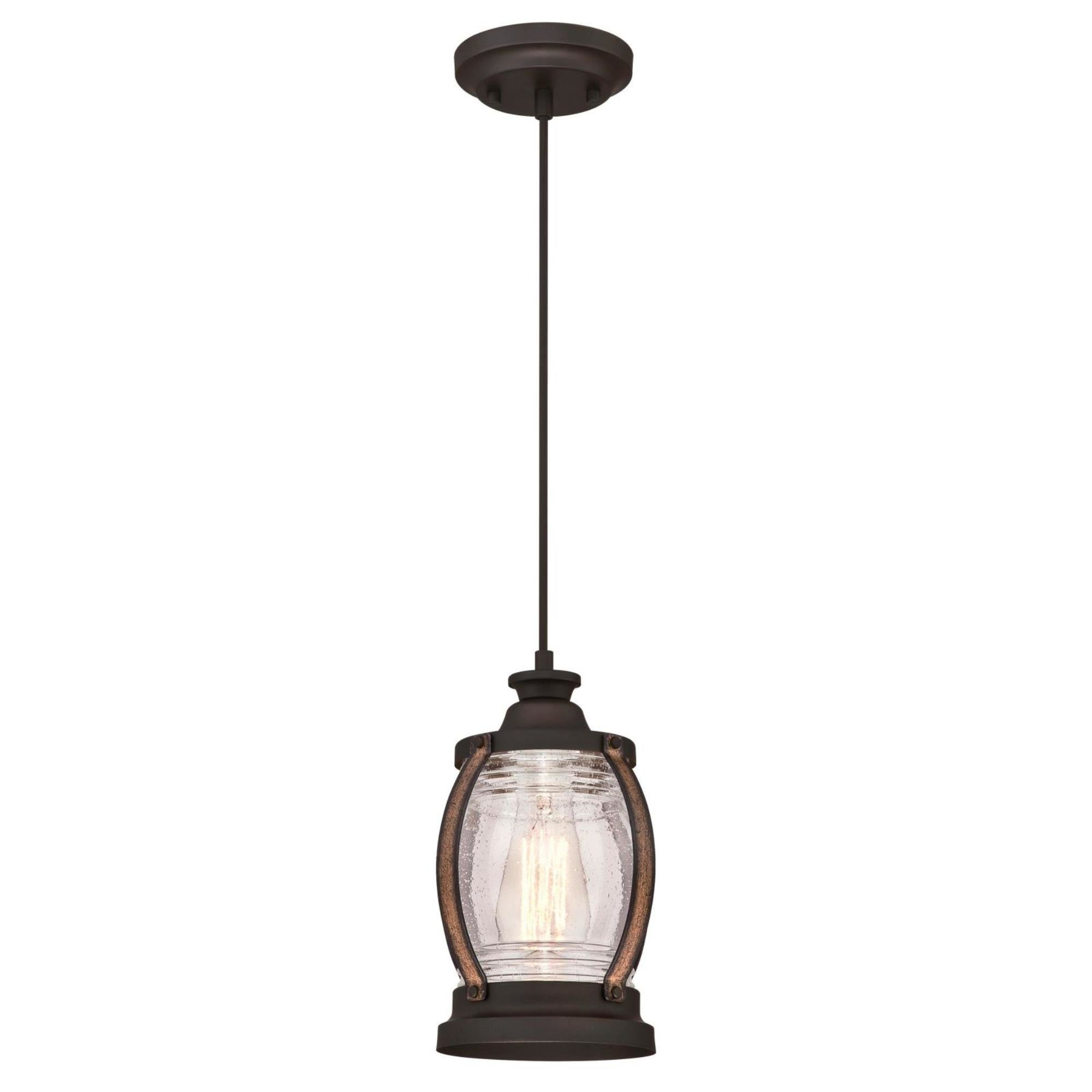Breakwater Bay Ginsburg 1-Light Single Cylinder Pendant intended for Best and Newest Willems 1-Light Single Drum Pendants