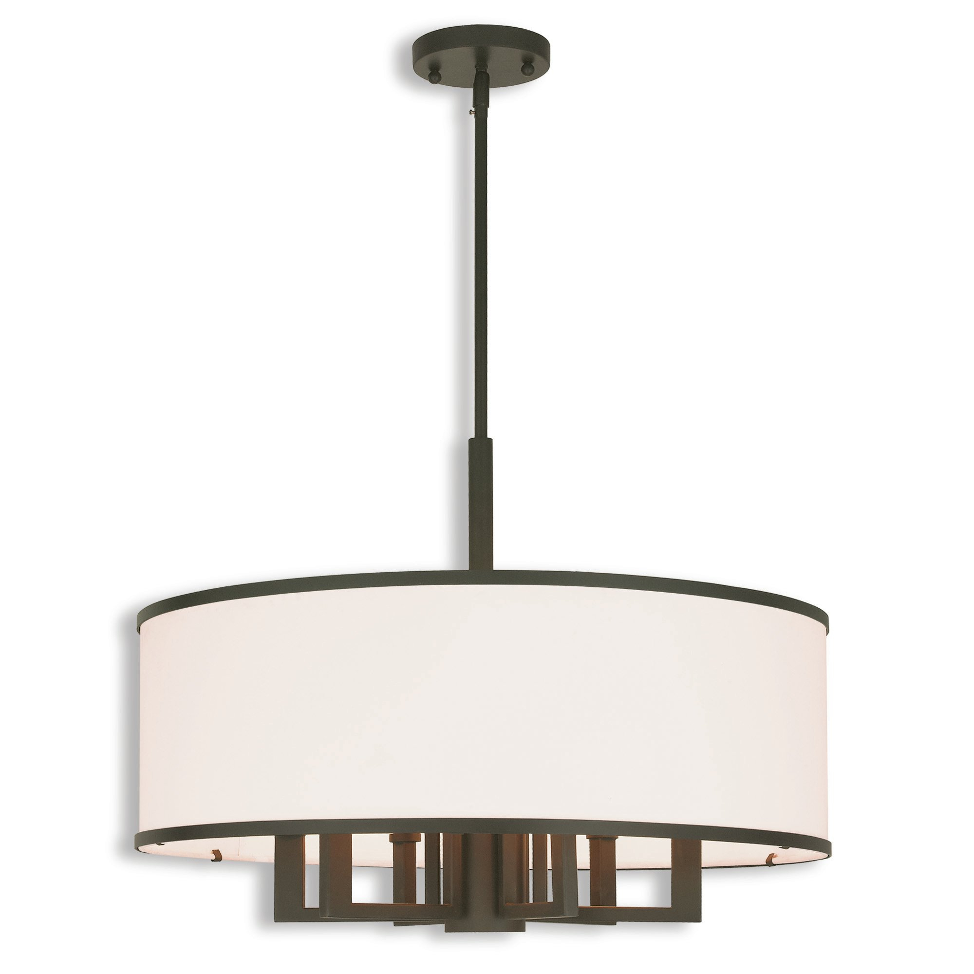 Breithaup 4-Light Drum Chandeliers regarding Latest Breithaup 7-Light Drum Chandelier