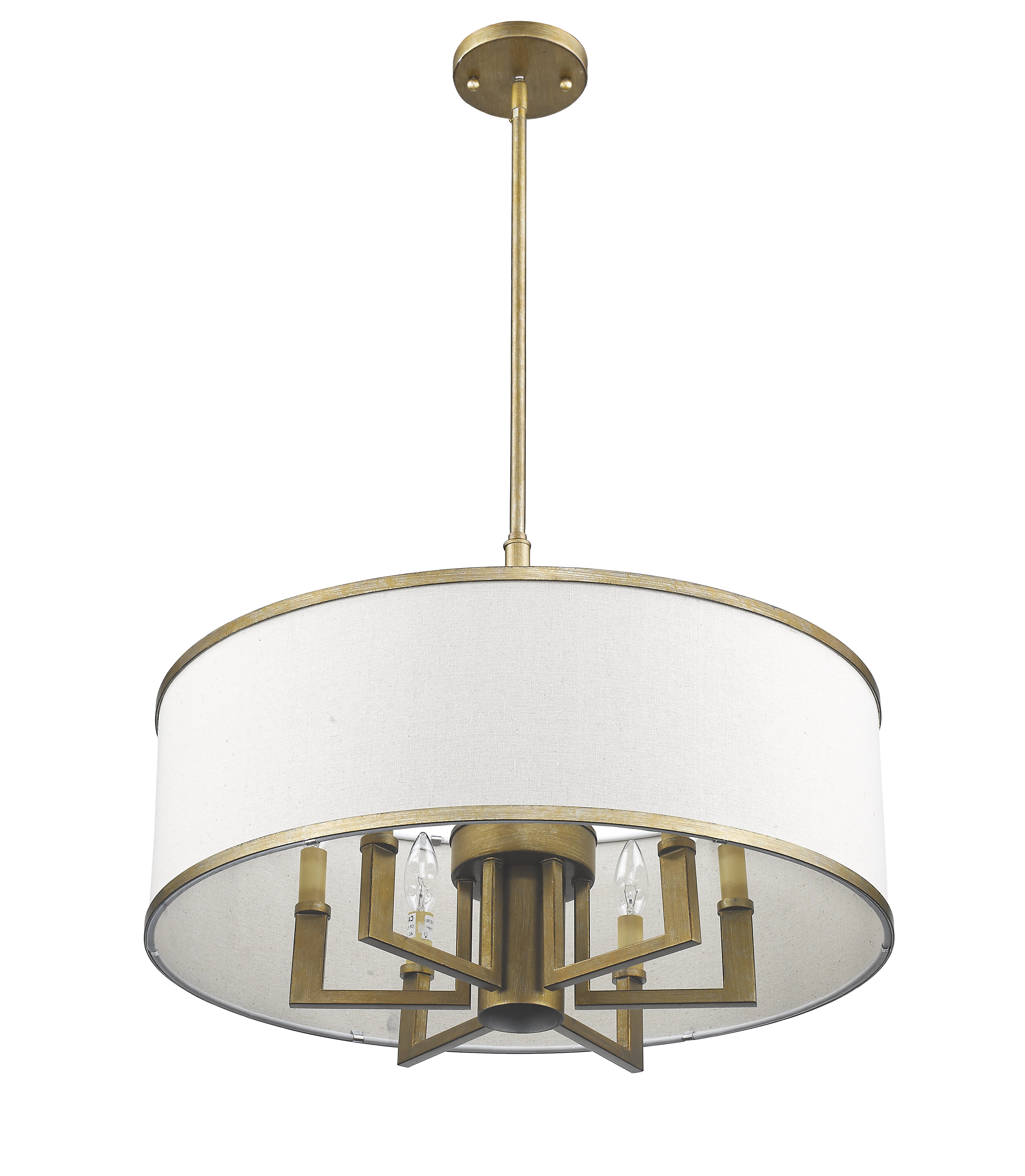 Breithaup 7 Light Drum Chandelier In Most Up To Date Farrier 3 Light Lantern Drum Pendants (View 10 of 25)