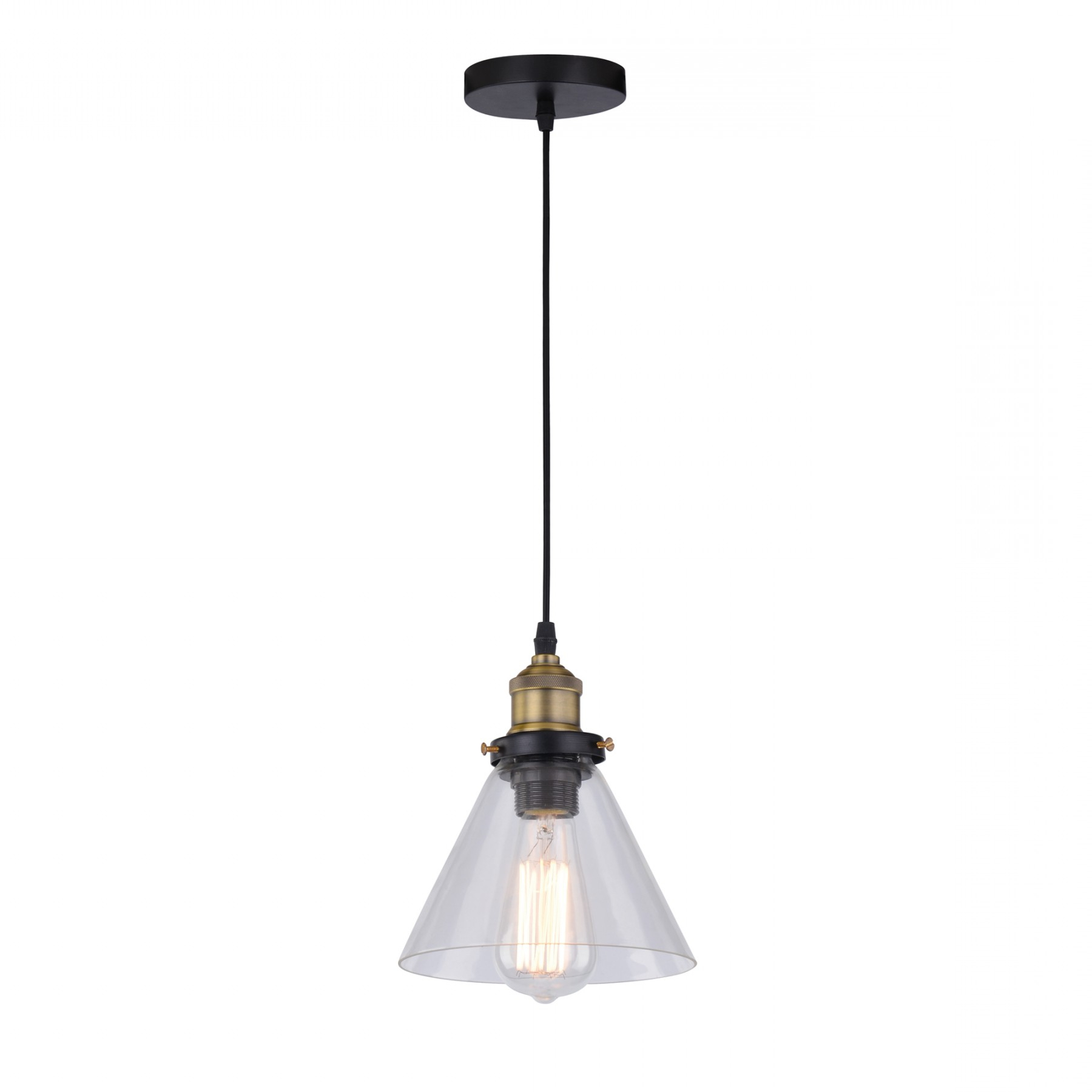 Britop Conrad Cone Ceiling Pendant Light Throughout Famous Guro 1 Light Cone Pendants (View 5 of 25)