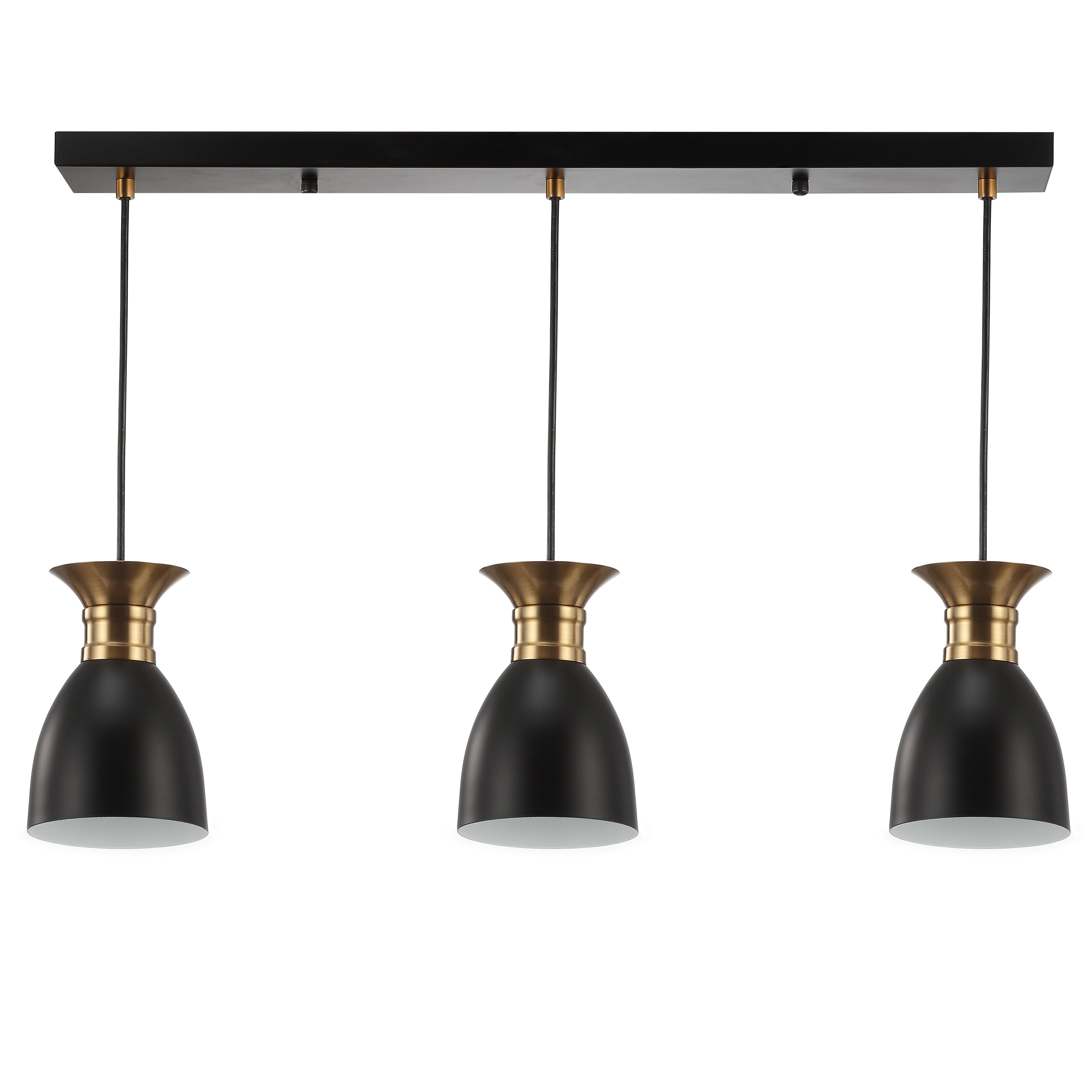 Bullington 3-Light Kitchen Island Pendant with regard to Newest Schutt 4-Light Kitchen Island Pendants