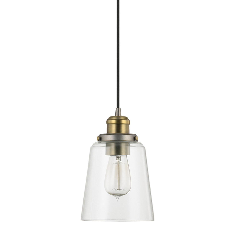 Bundaberg 1-Light Single Bell Pendants intended for Fashionable 1-Light Single Bell Pendant