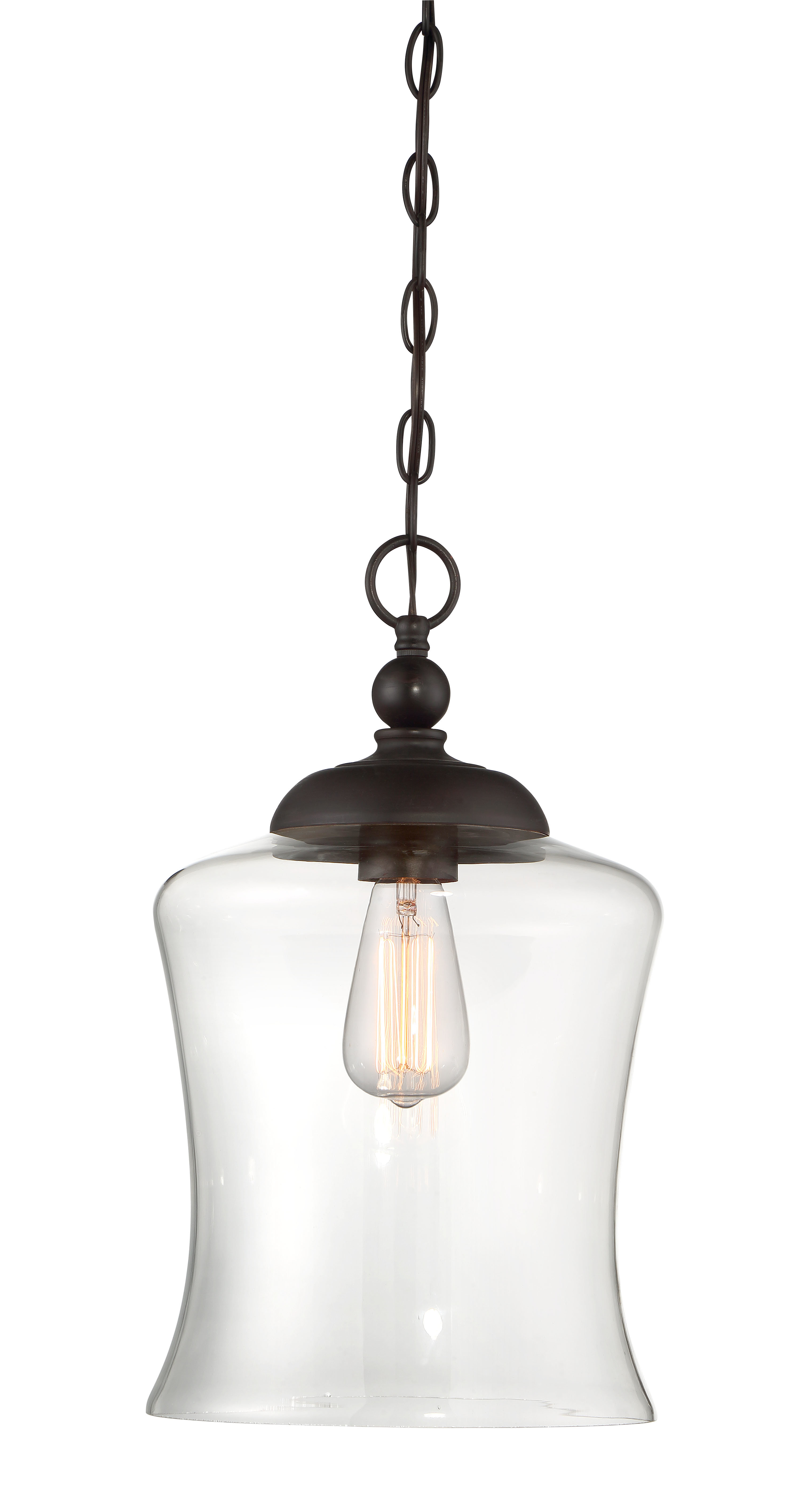 Bundaberg 1-Light Single Bell Pendants within Most Current Gammons 1-Light Bell Pendant