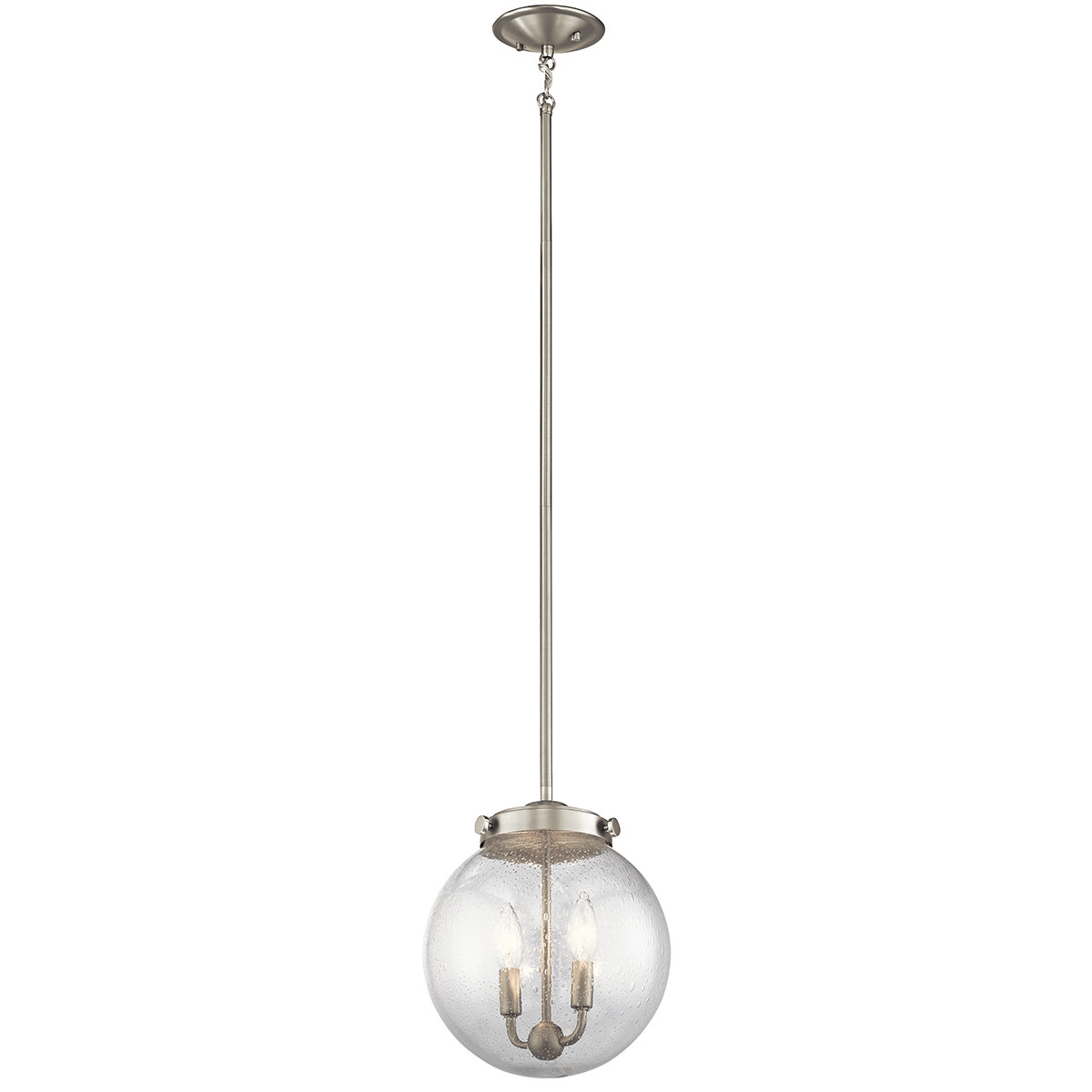 Bundy 1-Light Single Globe Pendants intended for Recent Adamell 1-Light Single Globe Pendant