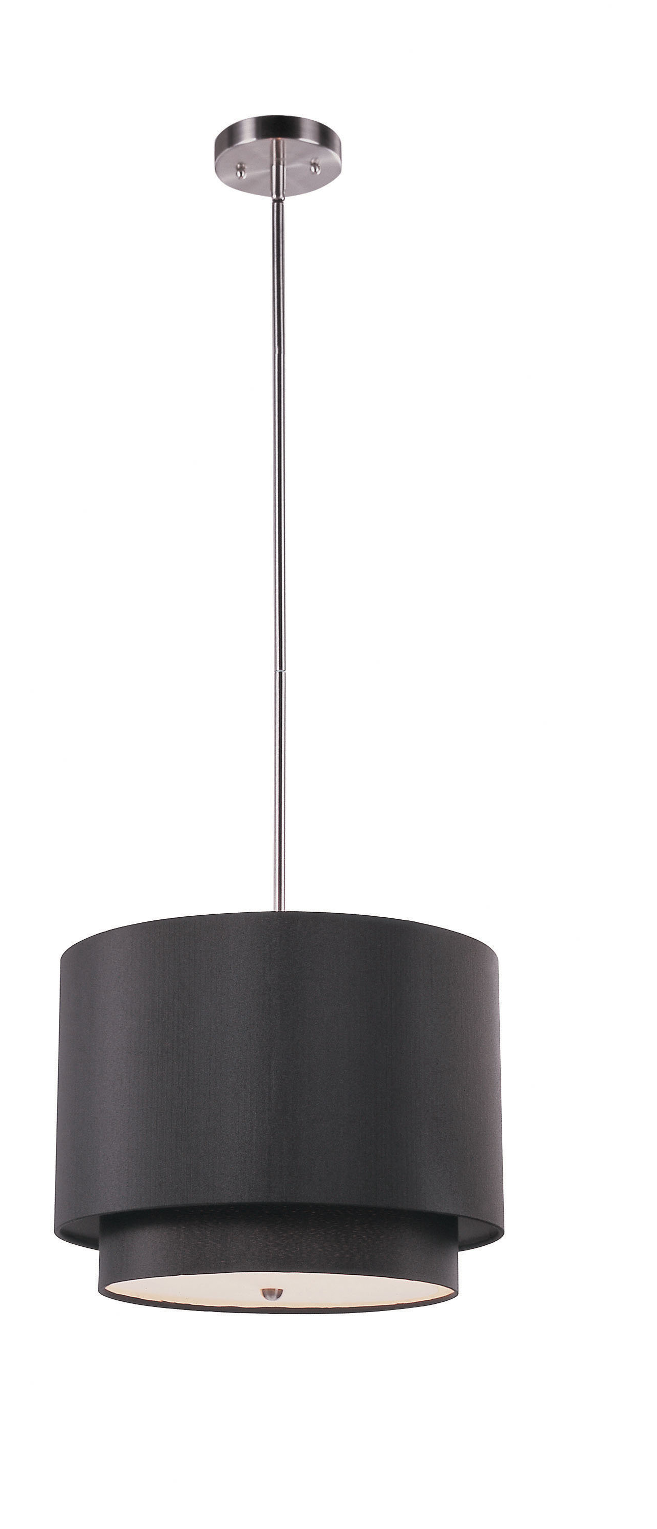Burslem 3 Light Single Drum Pendant For Most Up To Date Friedland 3 Light Drum Tiered Pendants (View 9 of 25)