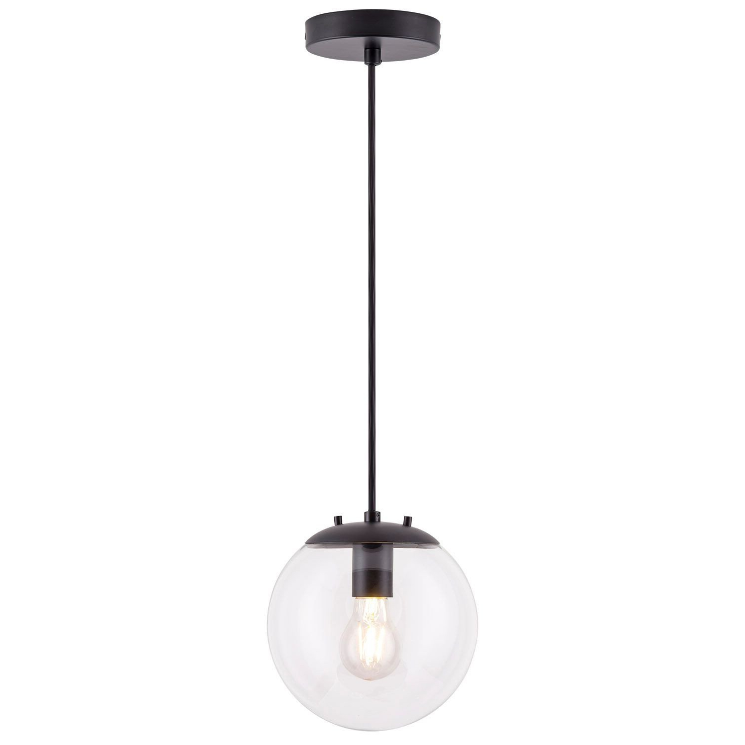 Burslem 3-Light Single Drum Pendants in Current Mercury Row Wysocki 1-Light Globe Pendant
