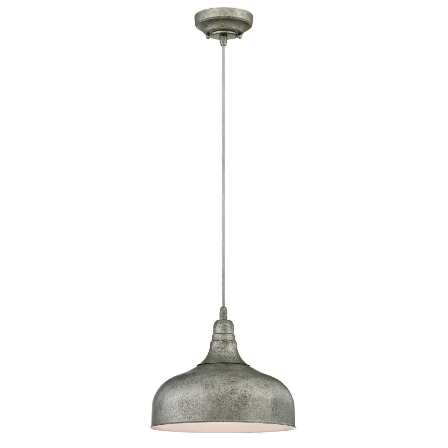 Burwan 1 Light Single Dome Pendant In Widely Used Hurst 1 Light Single Cylinder Pendants (View 8 of 25)