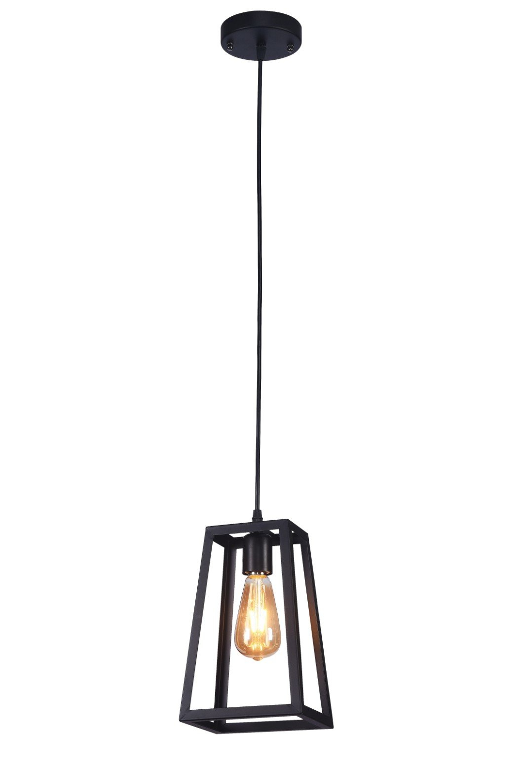 Cabott 1 Light Square/rectangle Pendant Pertaining To Best And Newest Nolan 1 Light Lantern Chandeliers (View 3 of 25)