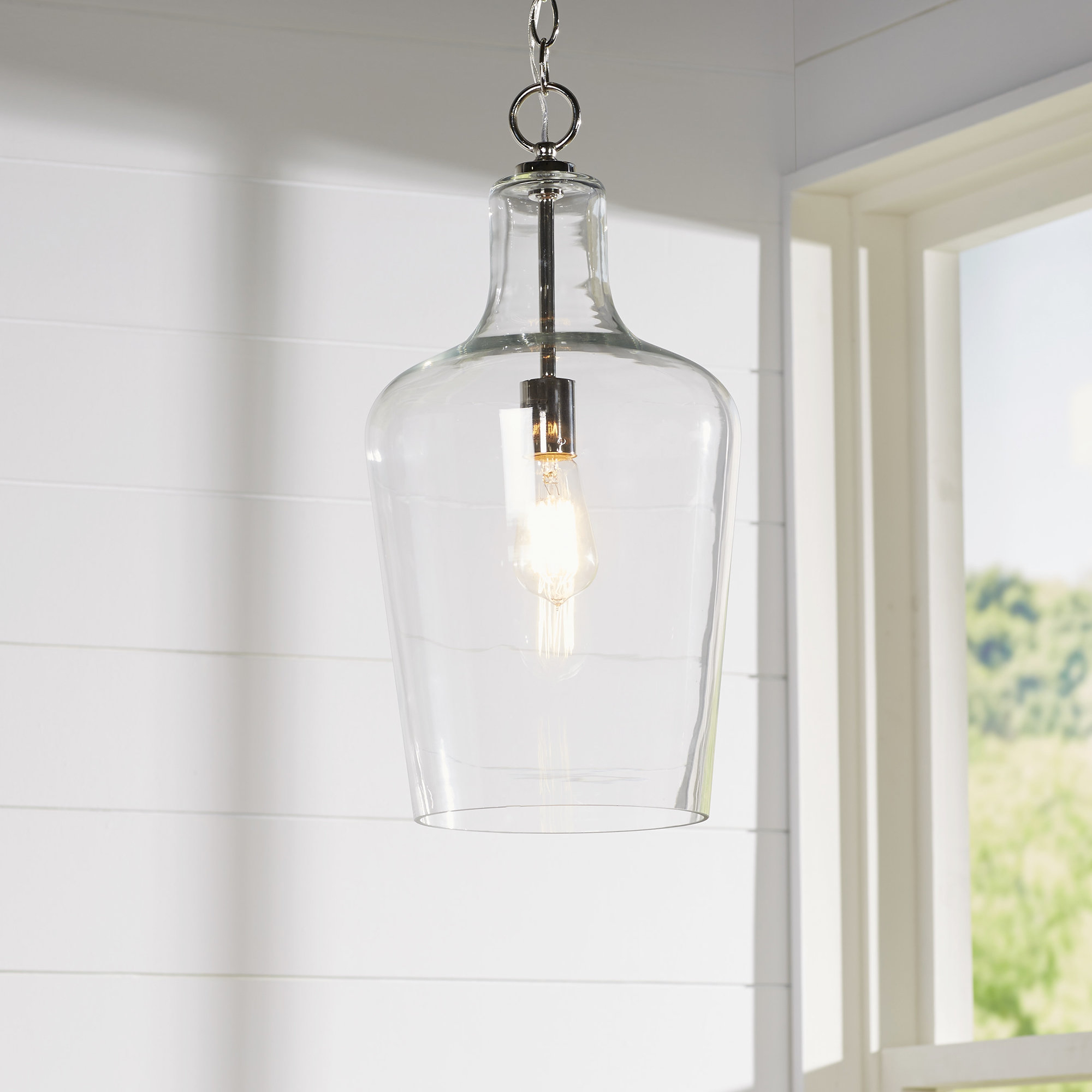 Carey 1 Light Single Bell Pendant In Most Recent Carey 1 Light Single Bell Pendants (View 3 of 25)