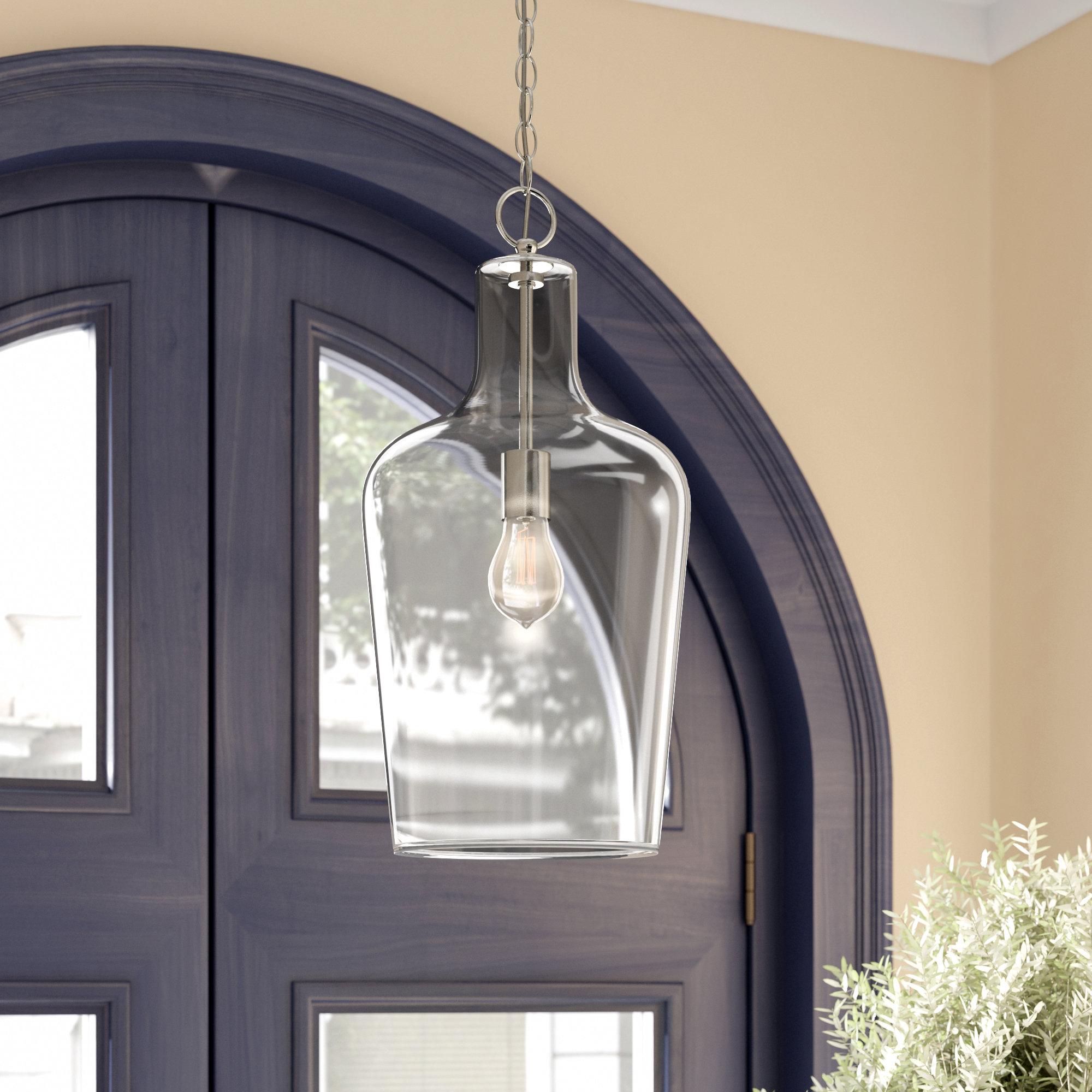 Featured Photo of Carey 1 Light Single Bell Pendants