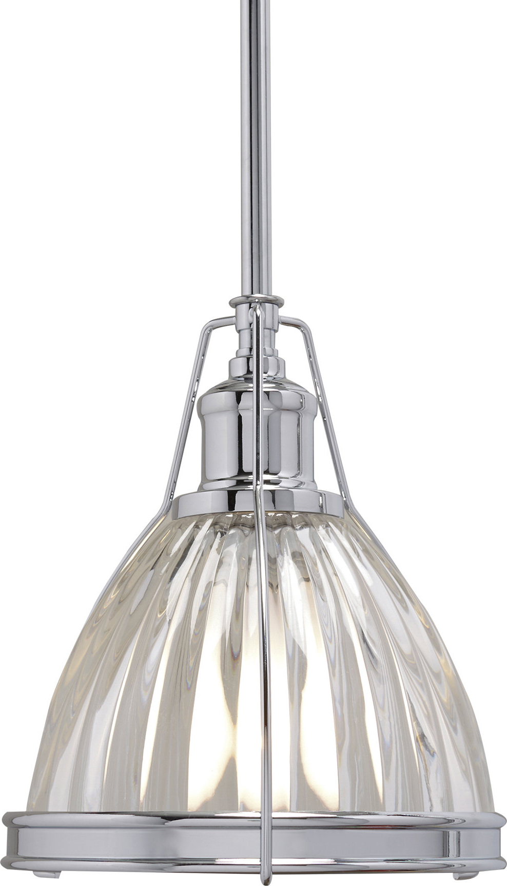 Carey 1 Light Single Bell Pendants Inside Most Recent Birch Lane™ Heritage 1 Light Single Bell Pendant (View 7 of 25)