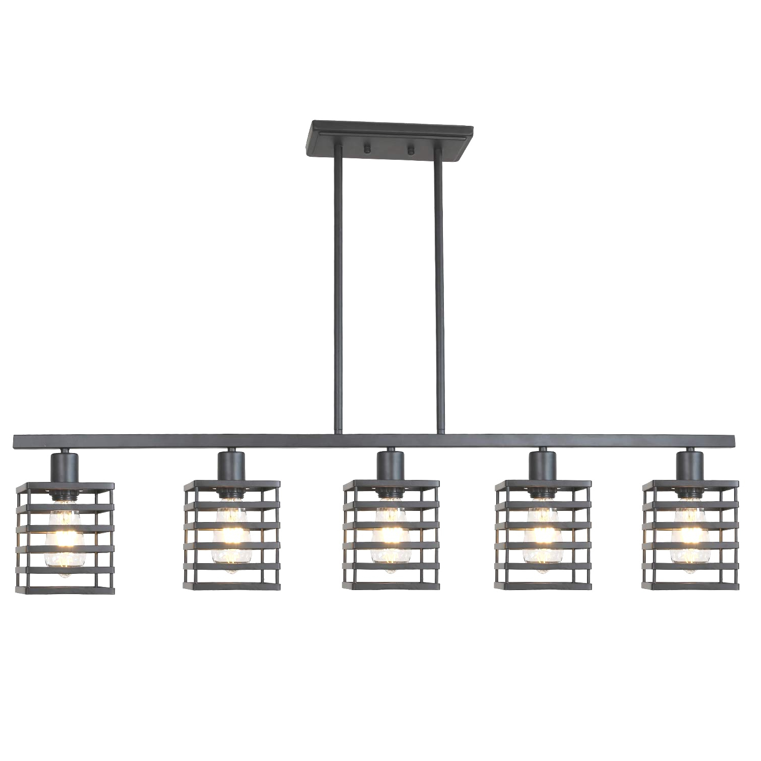 Carmen 6 Light Kitchen Island Linear Pendants With 2020 Home Ideas : Island Ceiling Lighting Fixtures Cool Pendant  (View 7 of 25)