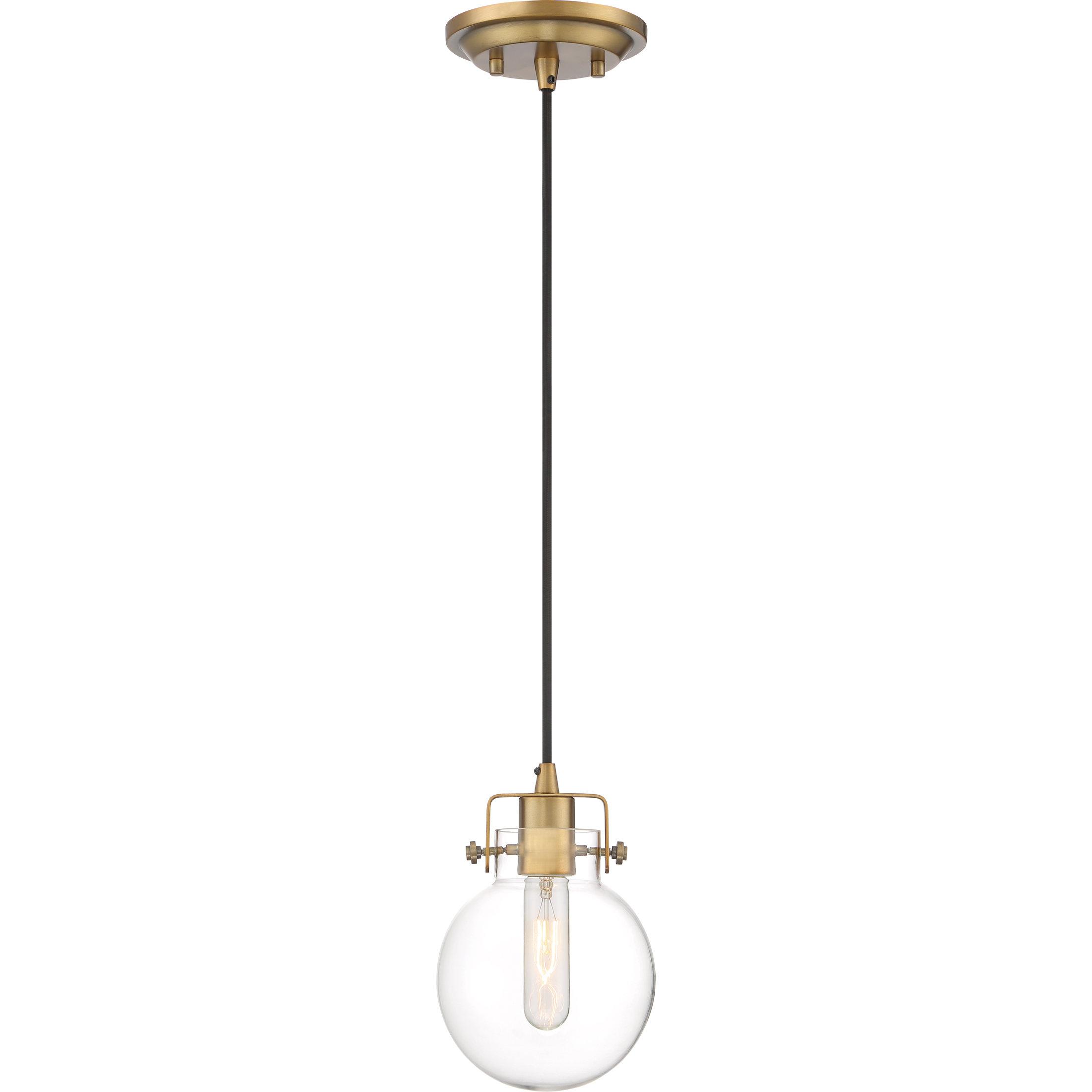 Cayden 1 Light Single Globe Pendants With Regard To Most Popular Lebron 1 Light Single Globe Pendant (View 13 of 25)