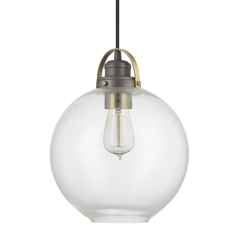 Cayden 1 Light Single Globe Pendants Within Popular Betsy 1 Light Single Globe Pendant (View 7 of 25)