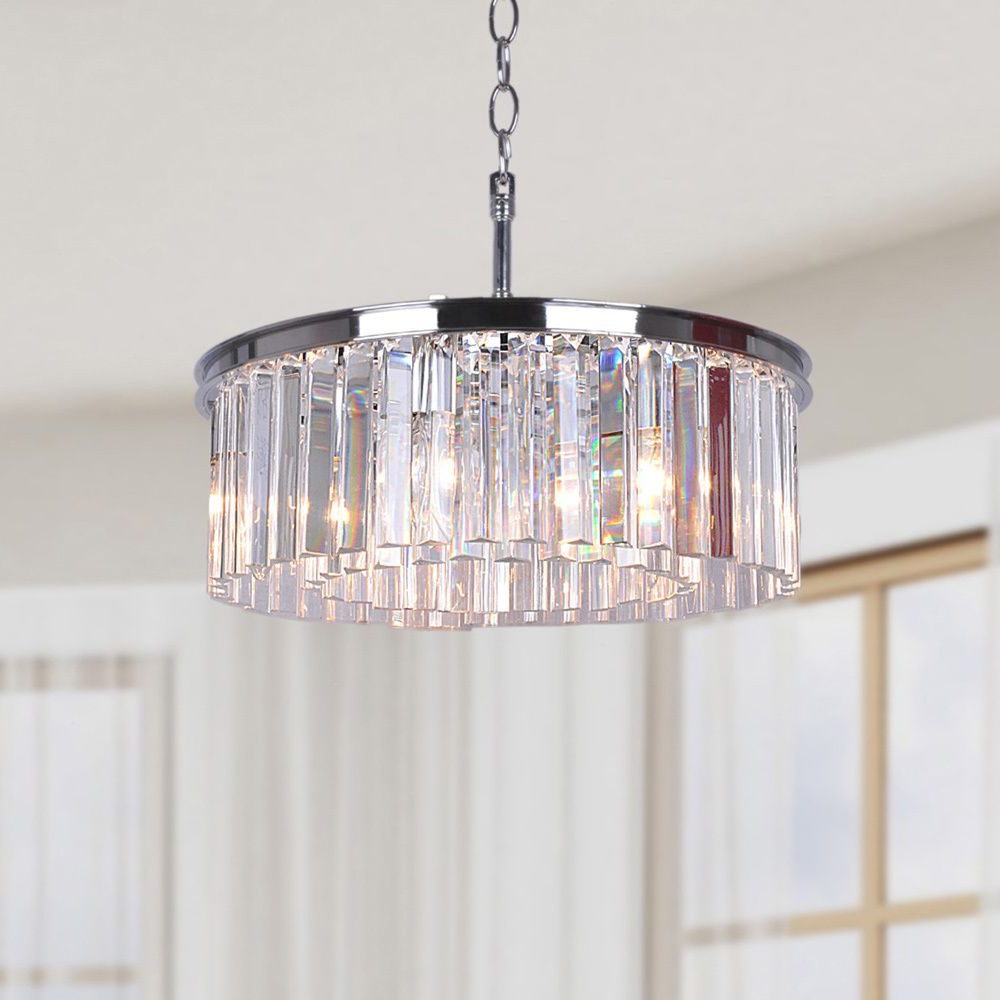 Ceiling Lighting With Most Recently Released Verdell 5 Light Crystal Chandeliers (View 8 of 25)