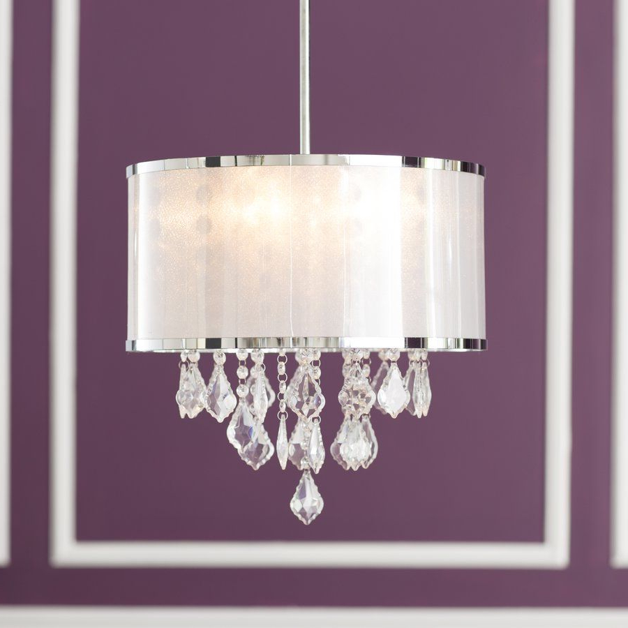 Chandelier With Current Aurore 4 Light Crystal Chandeliers (View 23 of 25)
