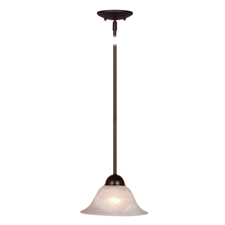 Charlton Home Van Nest 1 Light Single Bell Pendant & Reviews Pertaining To Fashionable Van Horne 3 Light Single Teardrop Pendants (View 1 of 25)