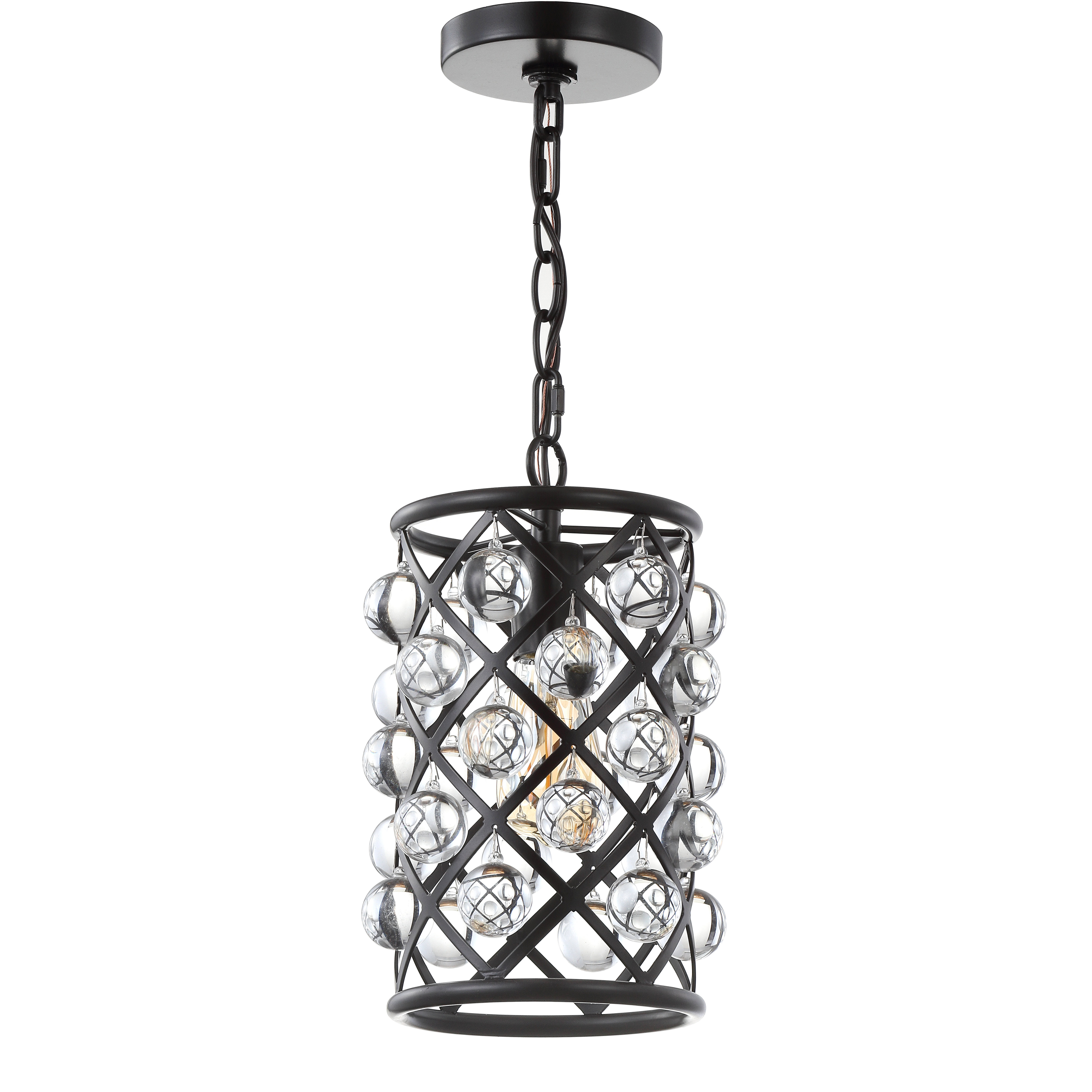 Chesler 1 Light Cylinder Pendant Intended For Most Recently Released Kilby 1 Light Pendants (View 22 of 25)