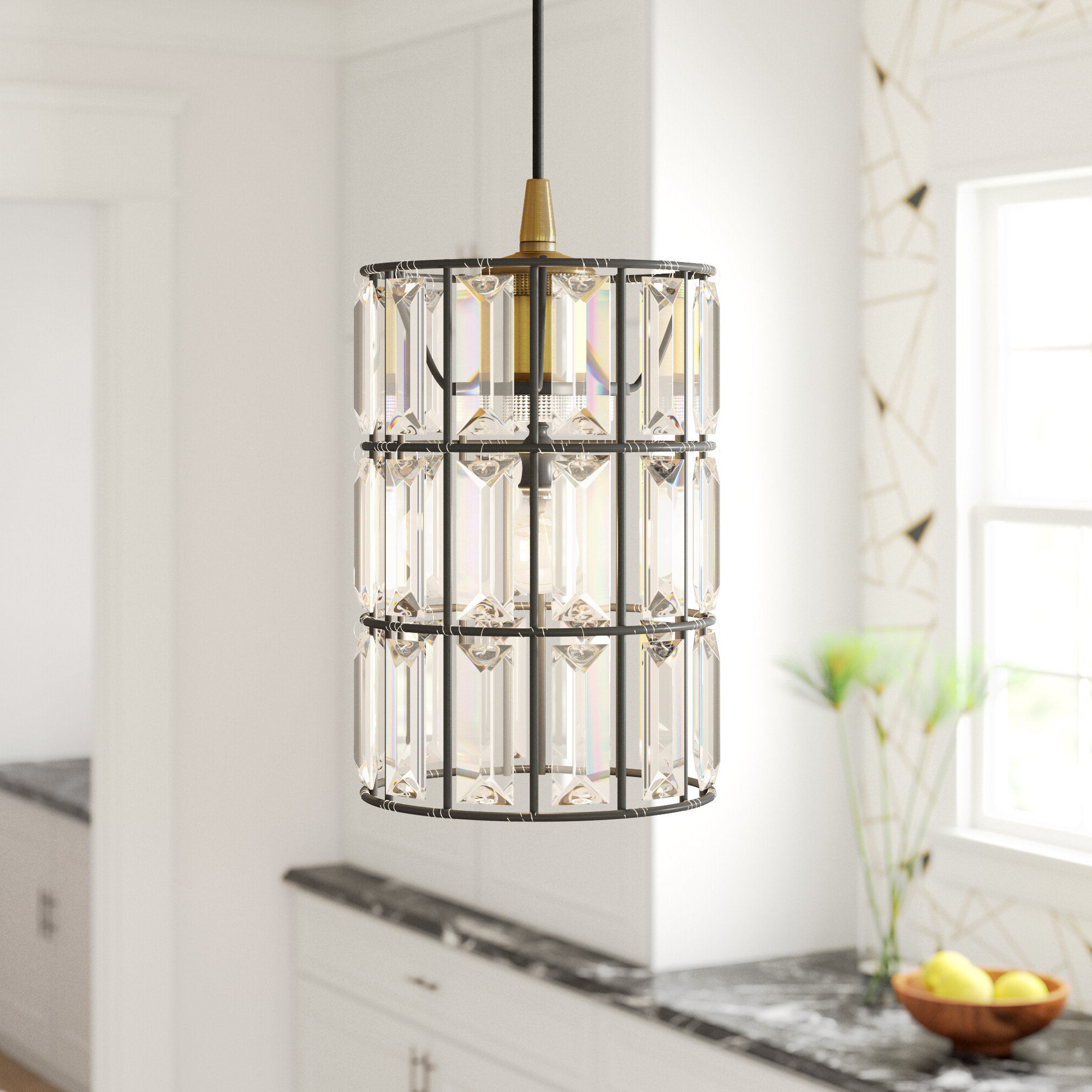 Colston 1 Light Single Cylinder Pendant For Latest Hermione 1 Light Single Drum Pendants (View 9 of 25)