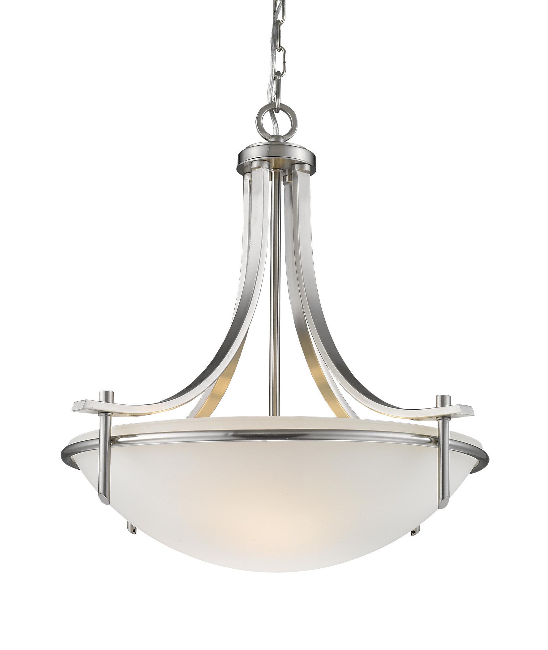 Colton 3 Light Bowl Pendant Pertaining To Fashionable Newent 3 Light Single Bowl Pendants (View 7 of 25)