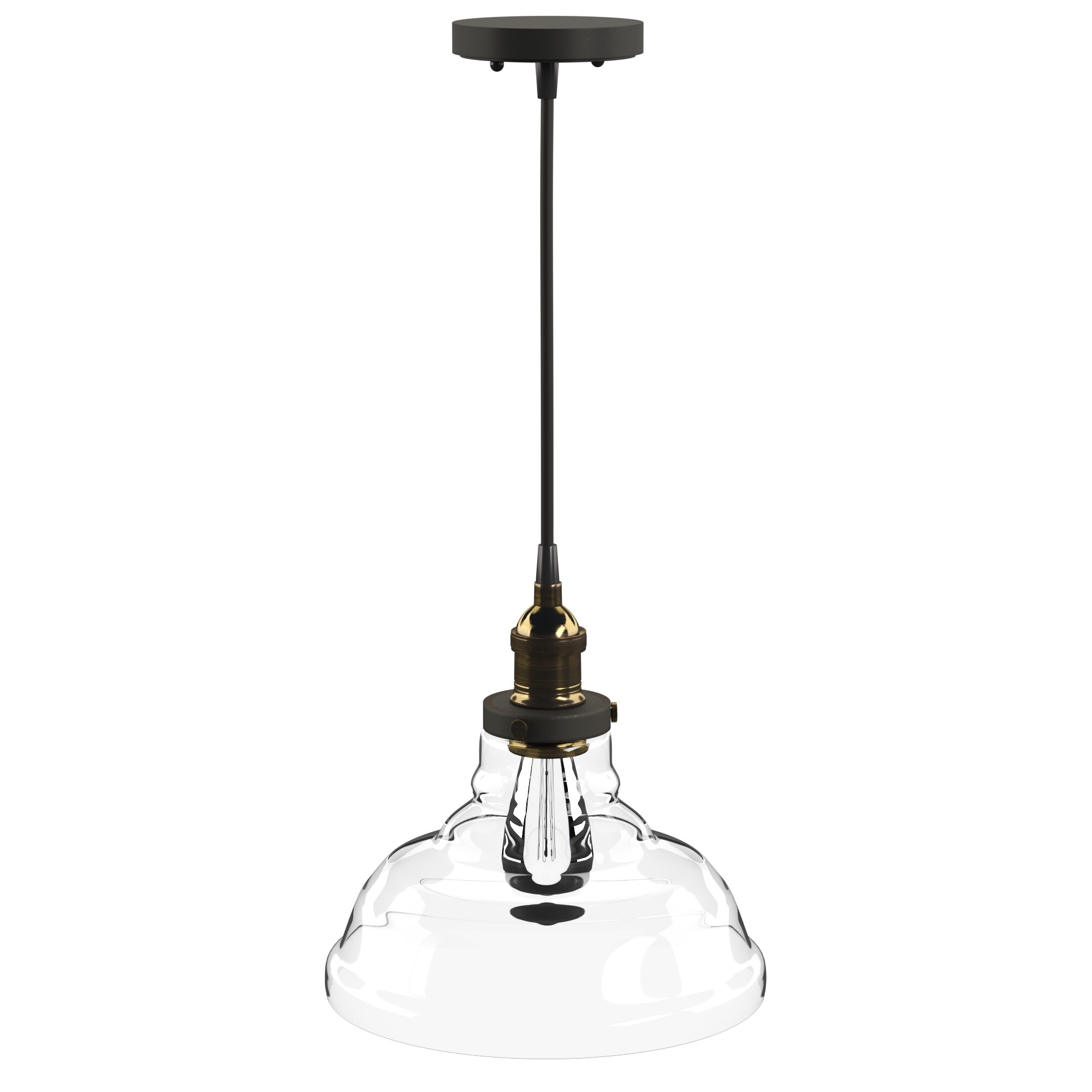 Conard 1 Light Single Teardrop Pendants Throughout Well Known Akakios 1 Light Single Bell Pendant (View 20 of 25)