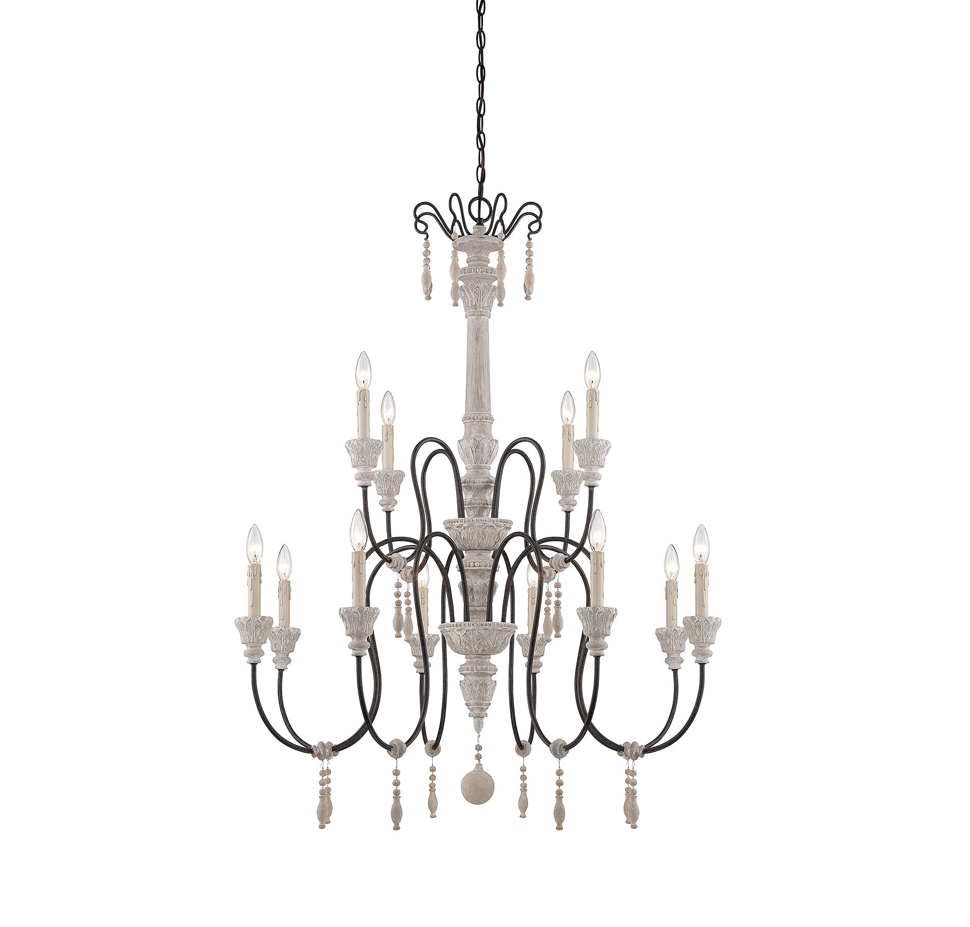 Corneau 12 Light Chandelier & Reviews (View 4 of 25)