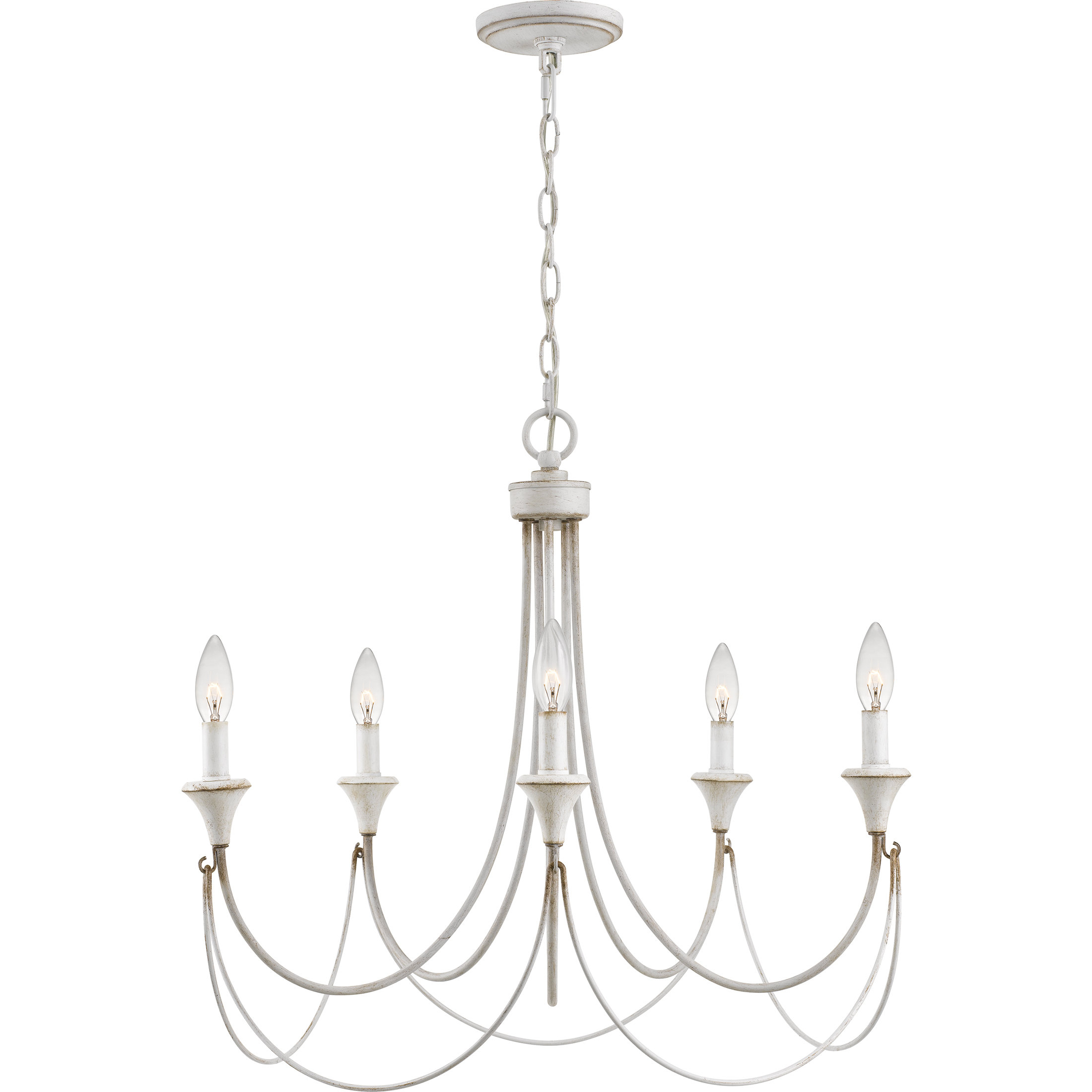 Corneau 5 Light Chandeliers For Most Current Breakwater Bay Walczak 5 Light Chandelier (View 20 of 25)