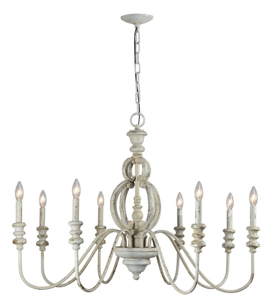 Corneau 5 Light Chandeliers Within Well Known Margo 8 Light Chandelier (View 6 of 25)