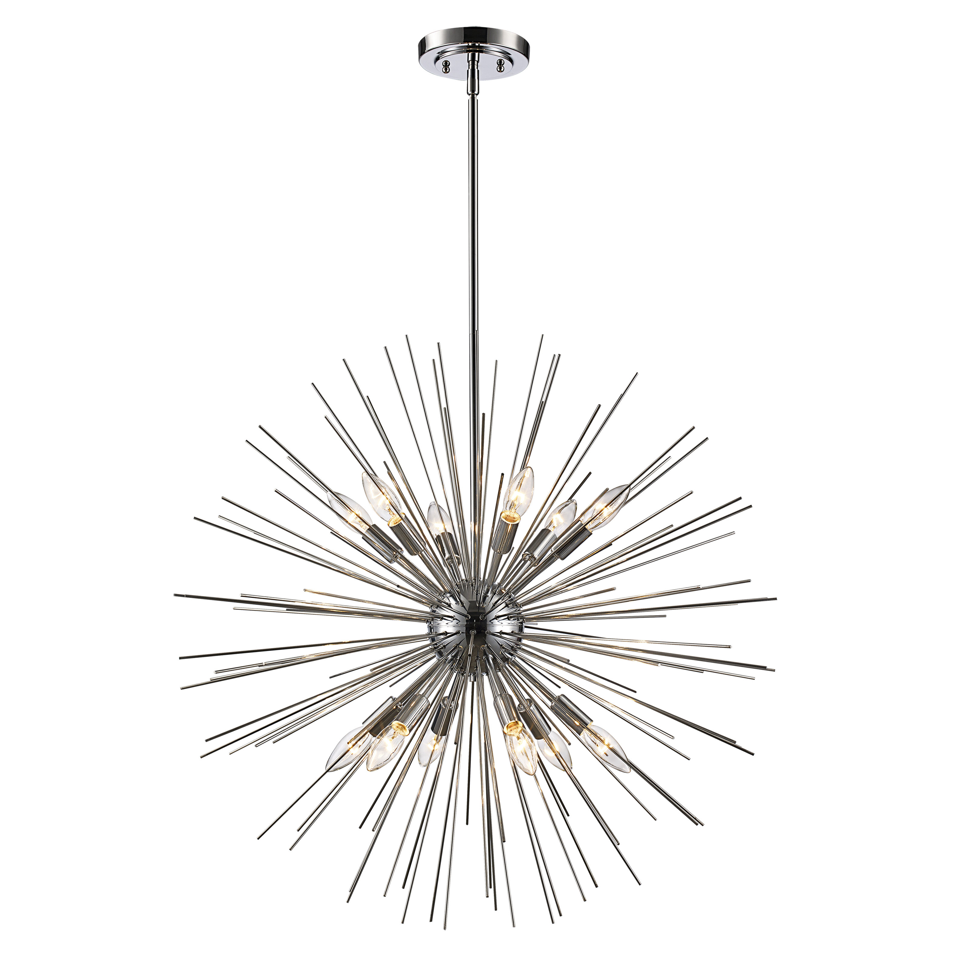 Corona 12 Light Sputnik Chandeliers Pertaining To Most Current Trent Austin Design Antonie 12 Light Sputnik Chandelier (View 17 of 25)
