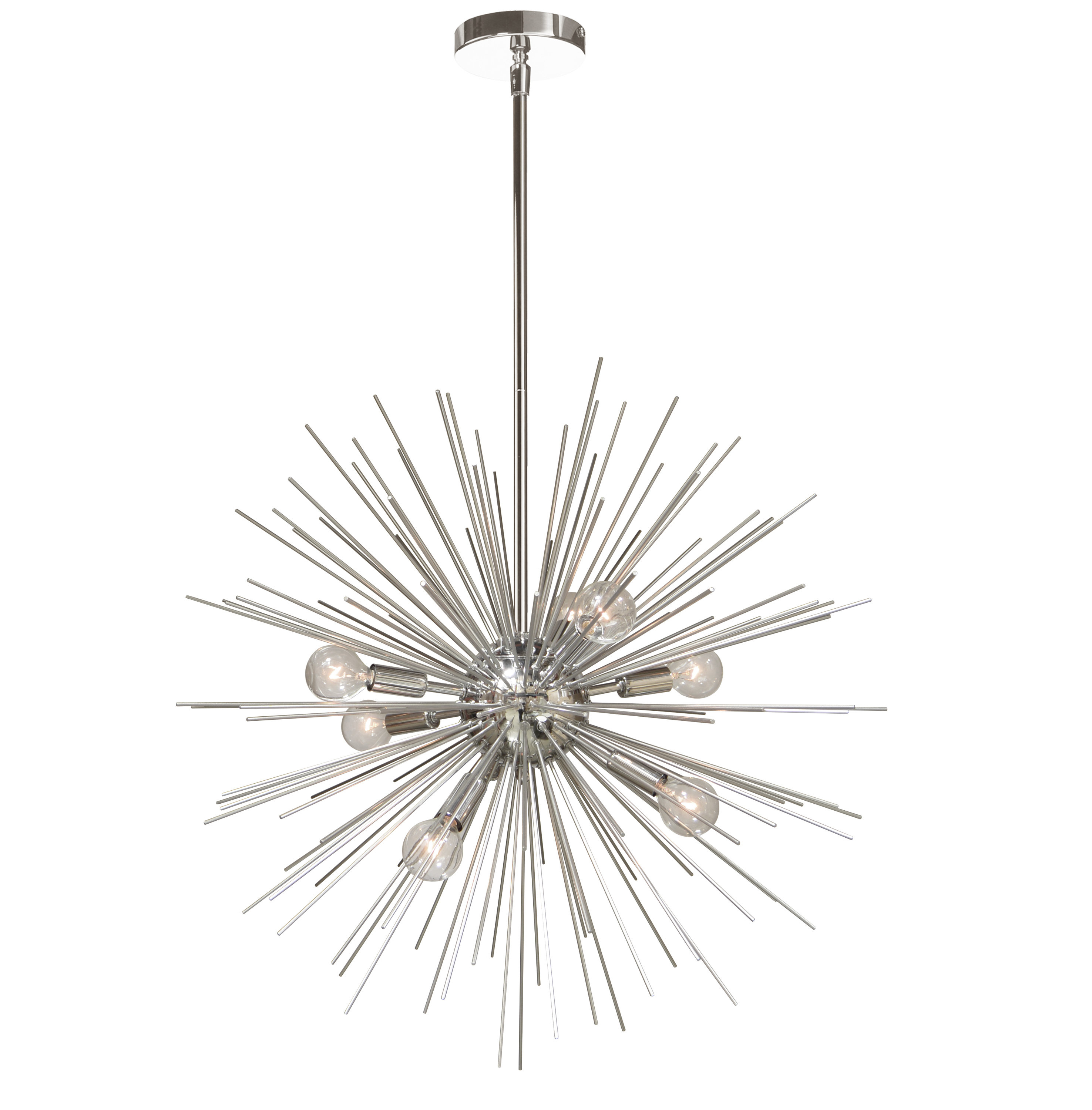 Corona 12 Light Sputnik Chandeliers With 2019 Celvin Charboneau 8 Light Sputnik Chandelier (View 23 of 25)