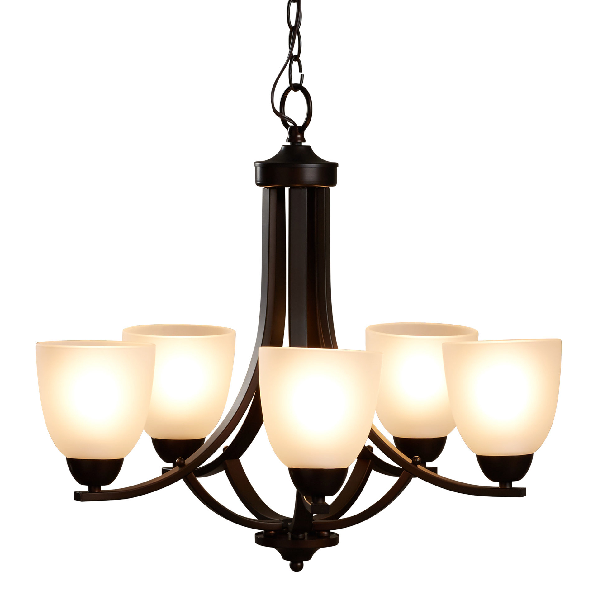 Crofoot 5 Light Shaded Chandeliers In Latest Hayden 5 Light Shaded Chandelier (View 5 of 25)