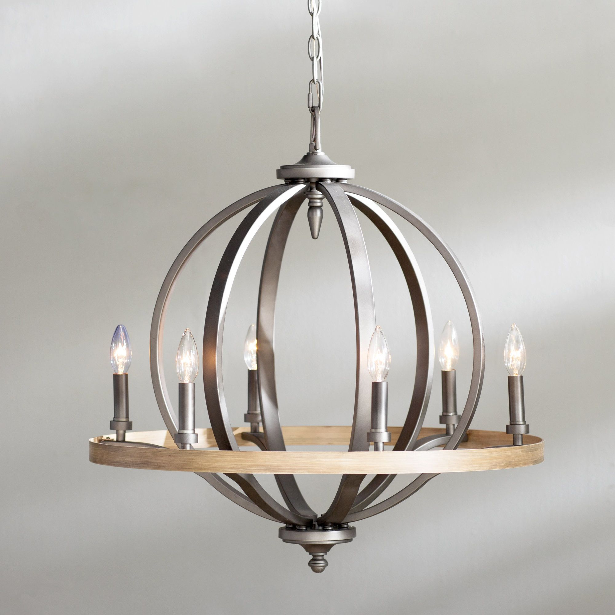 Crozier 6 Light Candle Style Chandelier (View 9 of 25)