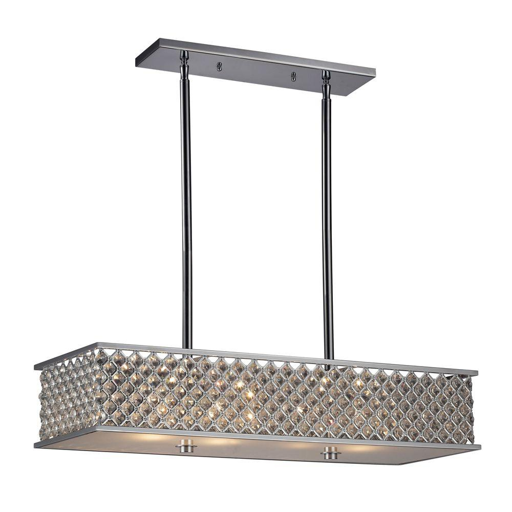 Crystal Kitchen Island Lighting (View 5 of 25)